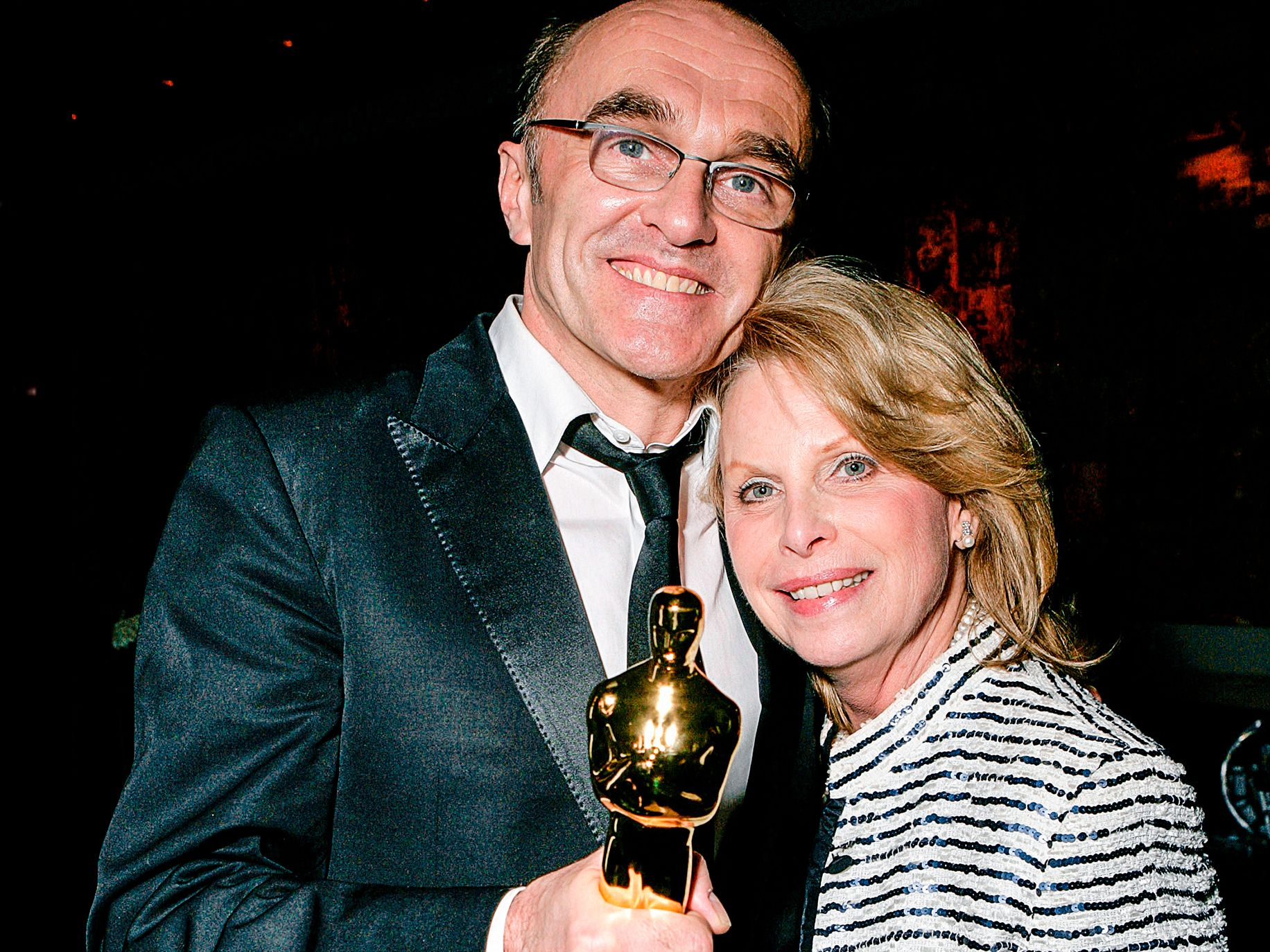 Ronni Chasen with director Danny Boyle.