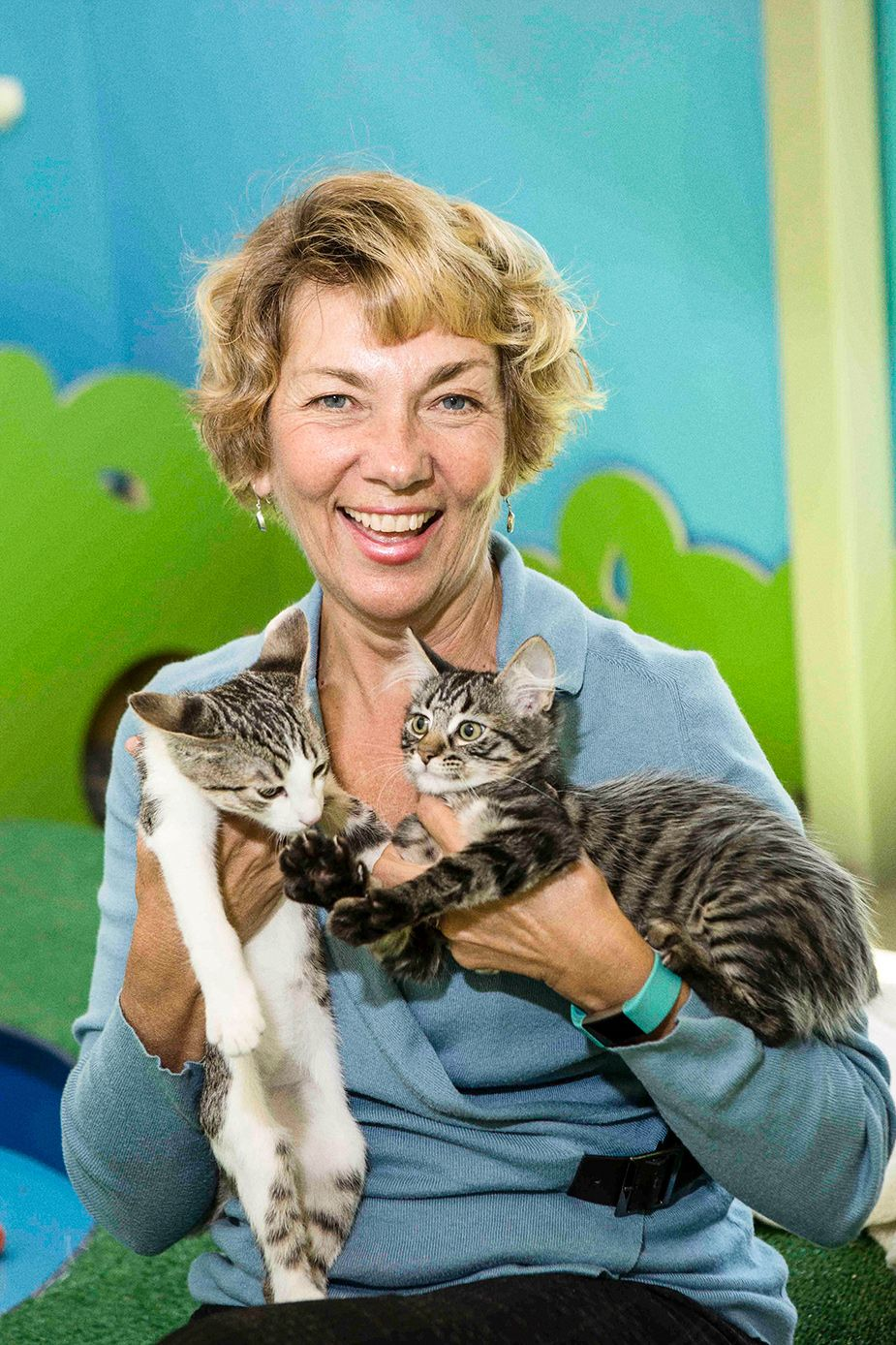 "PetSpace General Manager Carol Laumen says the facility is intended to be ""a paradigm breaker."""