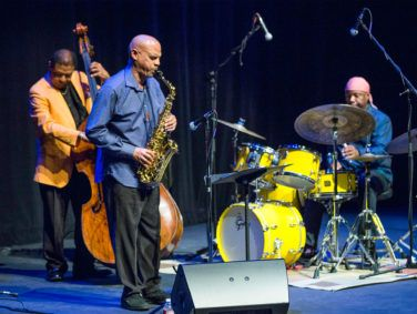 Buster Williams' Something More Quartet performs at a Jazz Bakery show.