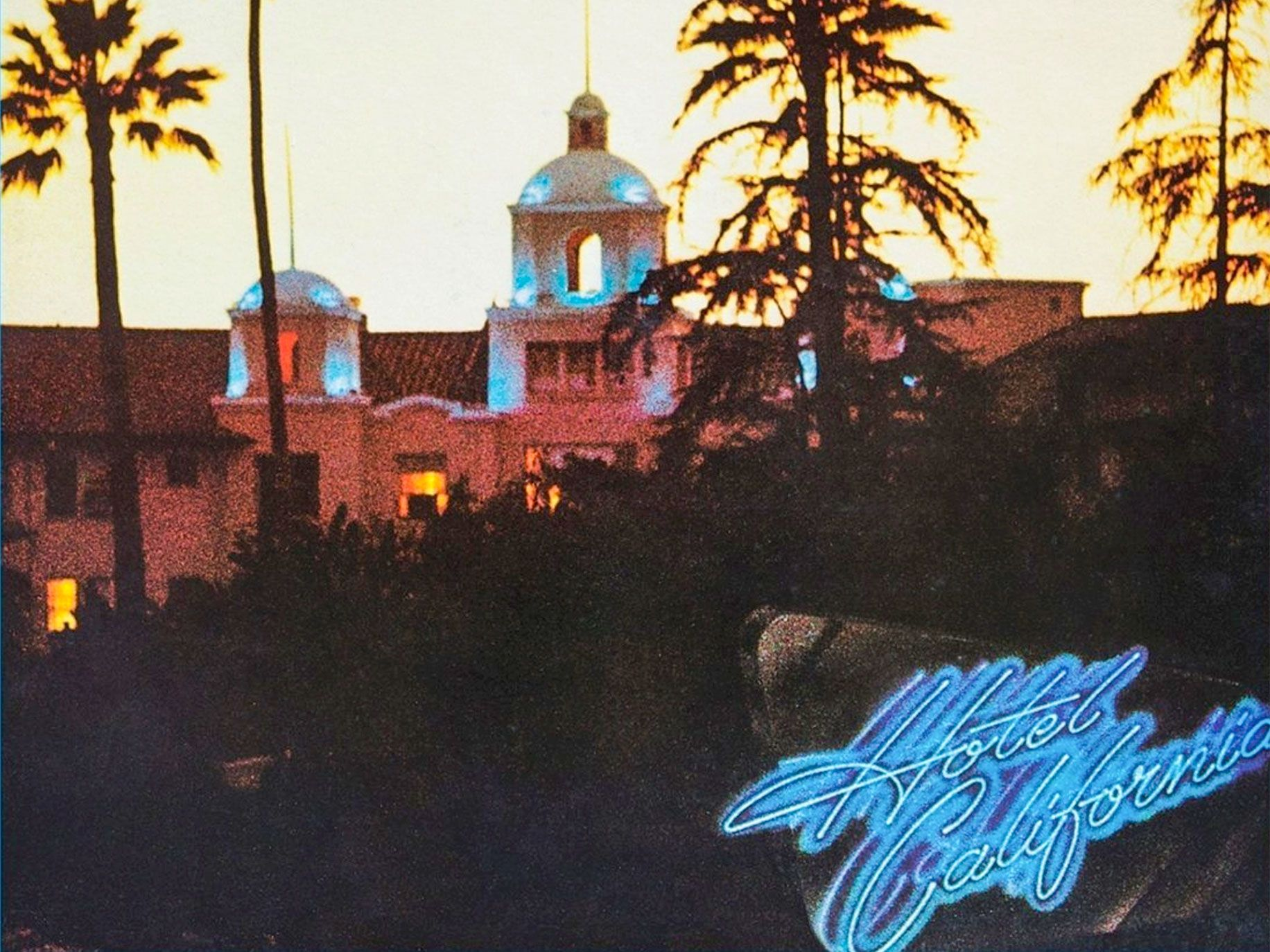 Hotel California Album Cover