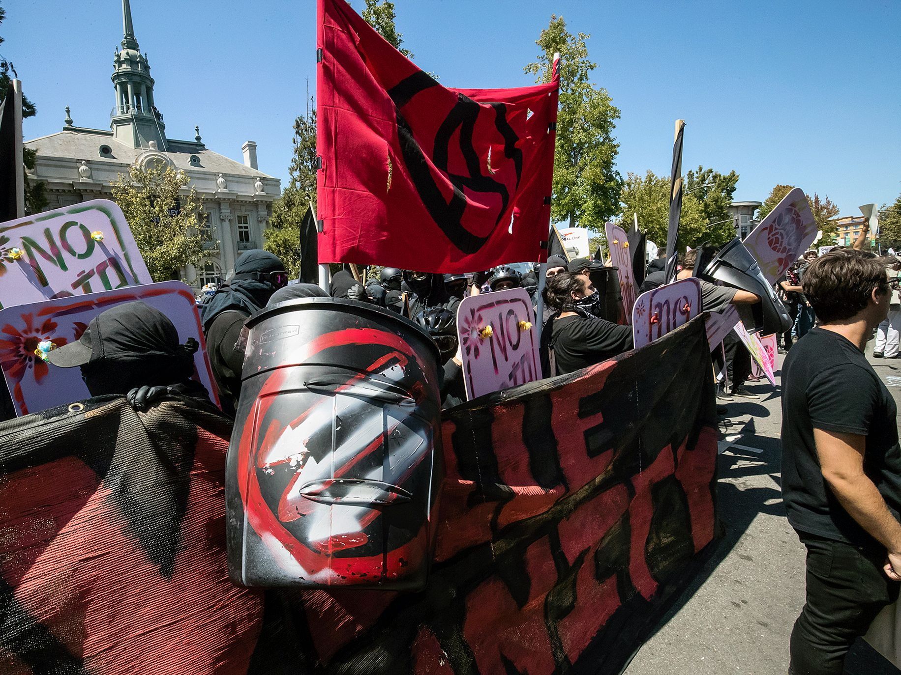 In August, local militant antifa joined more moderate demonstrators in a seminal moment in Berkeley.