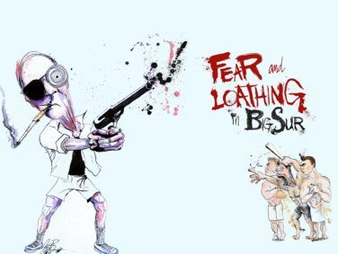 Fear and Loathing in Big Sur illustration