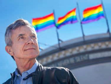 Terry Beswick, executive director of the GLBT Historical Society in San Francisco, hopes to build an expanded version of the group's museum in the city. But real estate and political considerations have made it difficult to find a good location.