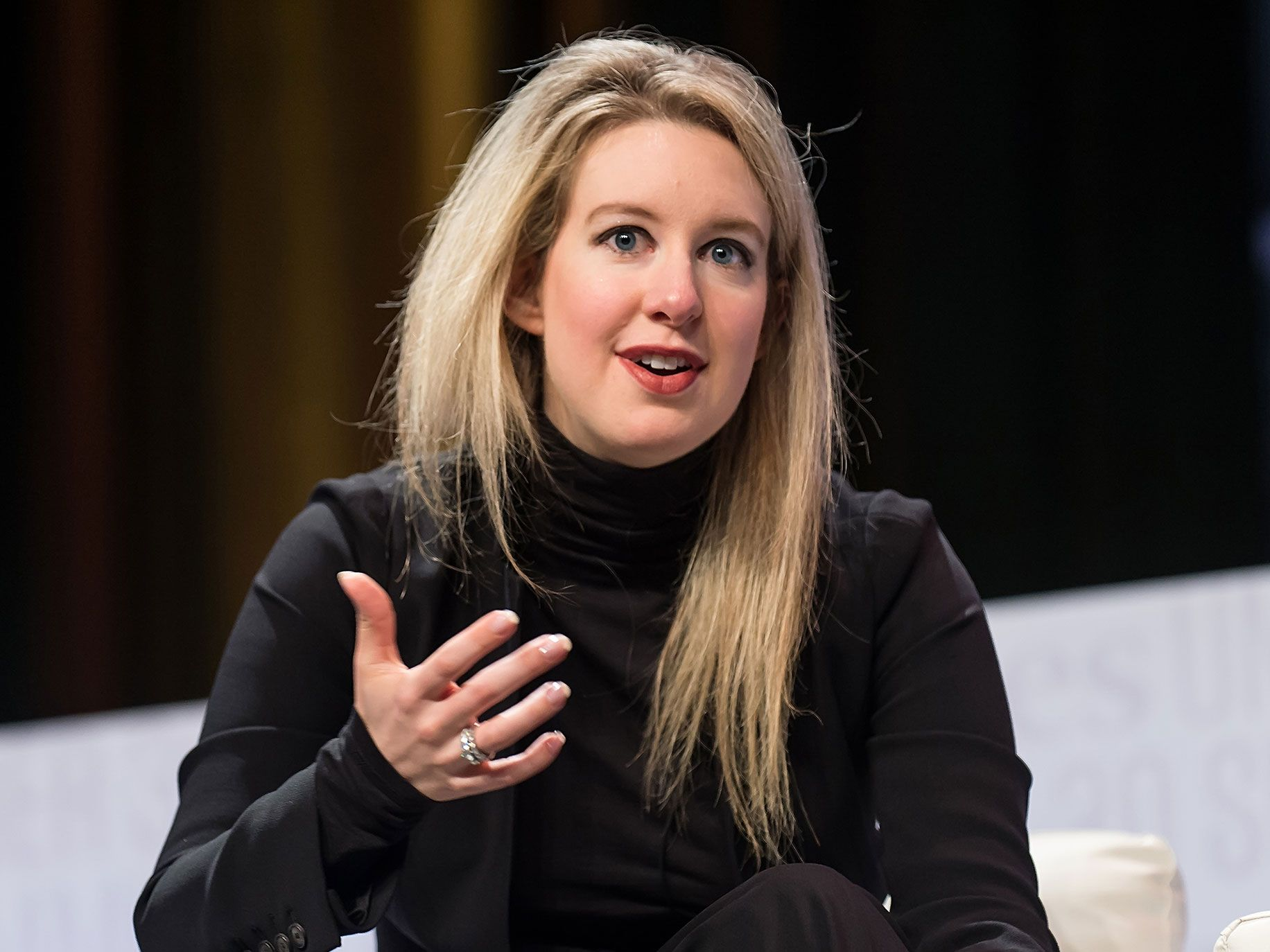 Founder and CEO of Theranos Elizabeth Holmes