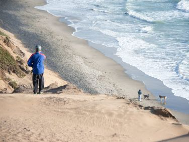 Incidents of pets trapped along the cliffs of Fort Funston are on the rise.