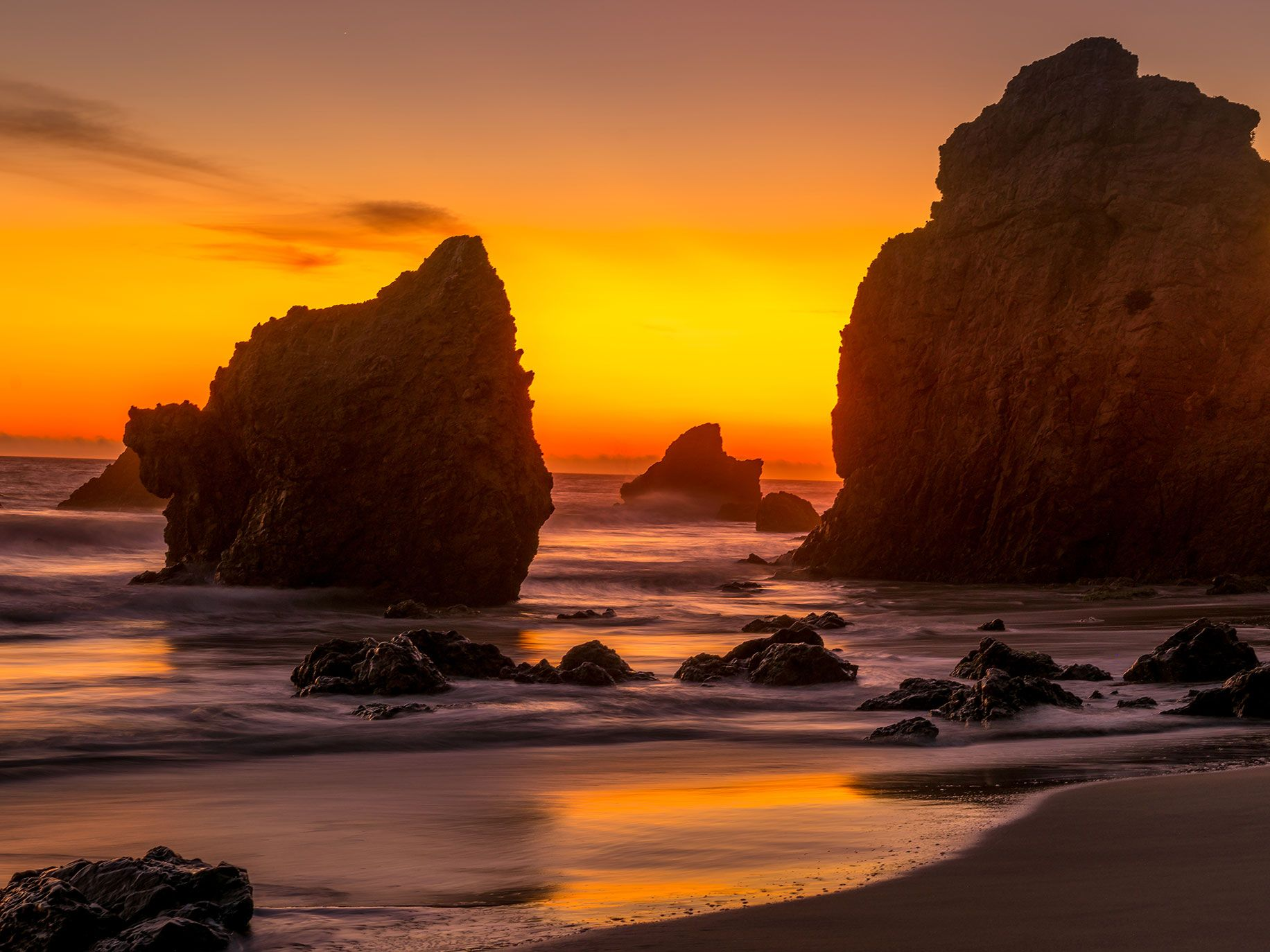 El Matador Beach has been used as a filming location for many movies over the years.