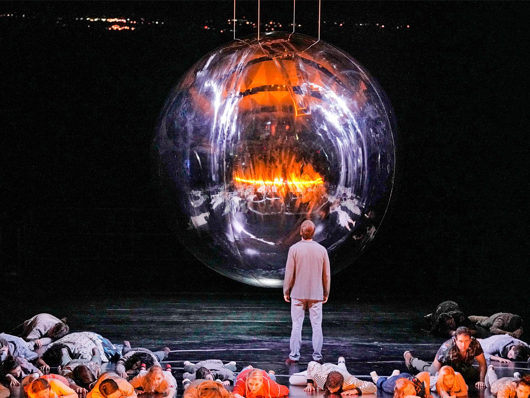 "Audiences at this summer's Santa Fe Opera production of Adams' ""Doctor Atomic"" were confronted by a giant version of the atomic bomb."