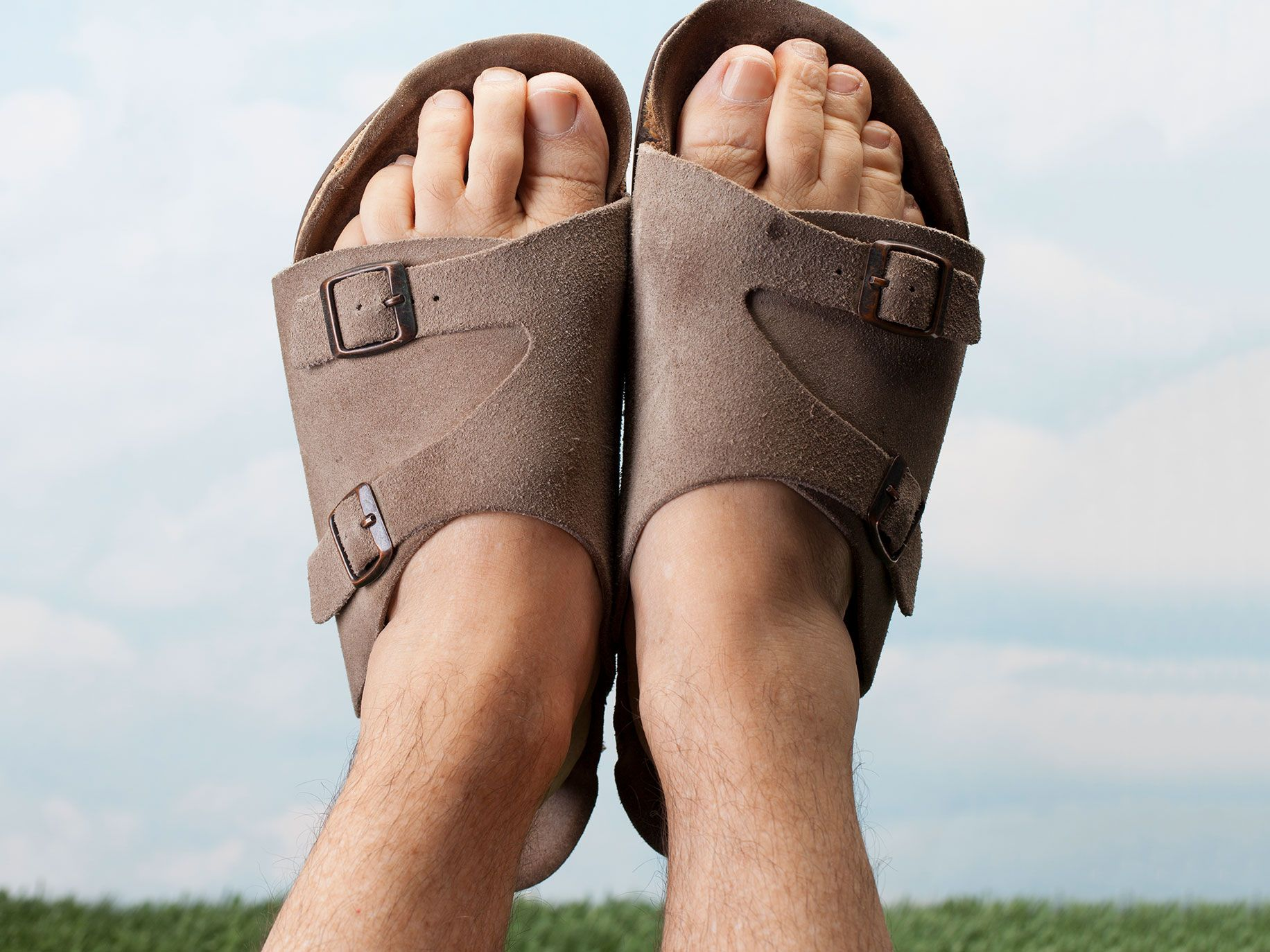 Birkenstocks are the product (and namesake) of a German shoe company.
