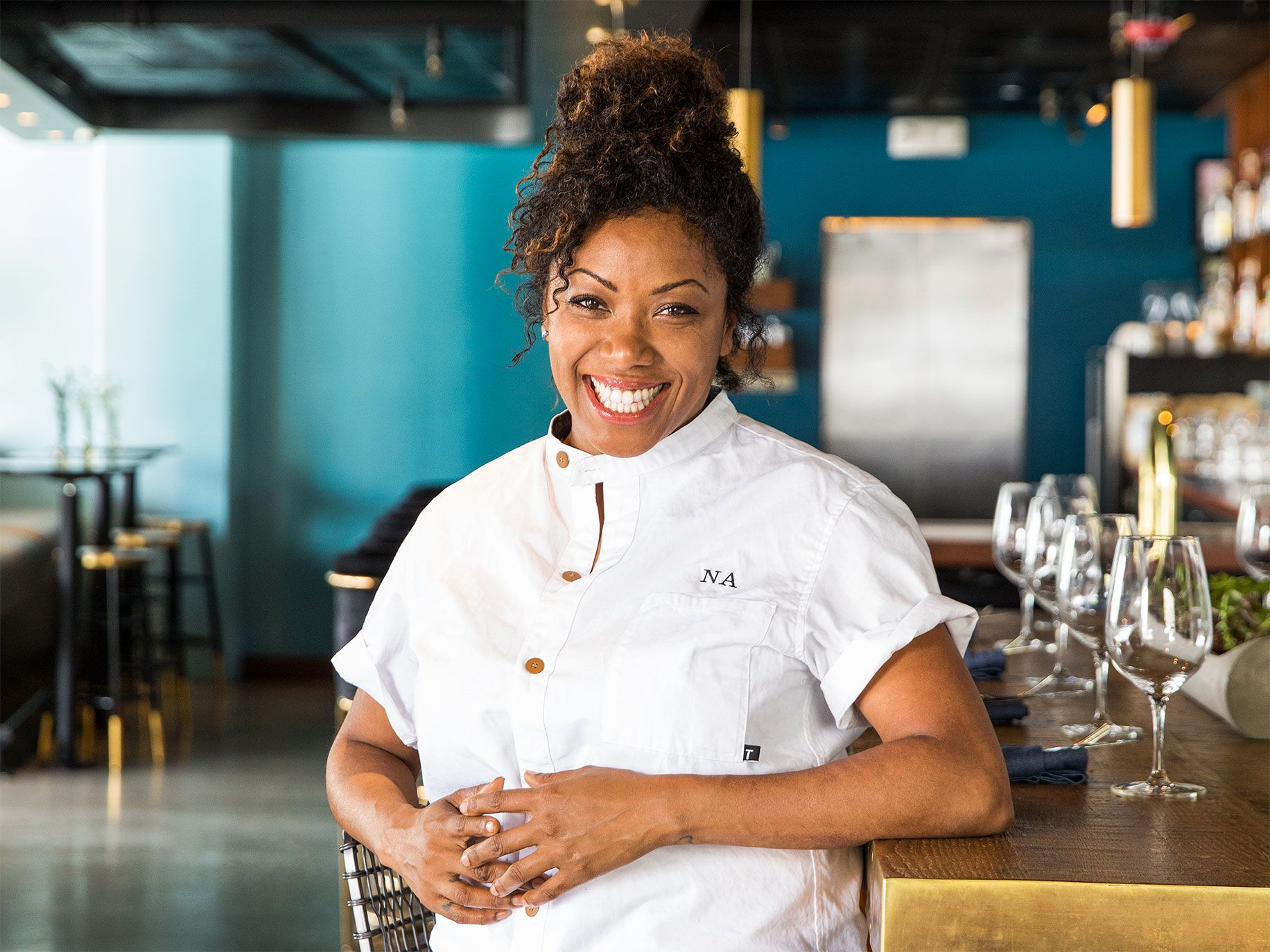 Native's owner and chef Nyesha J. Arrington.