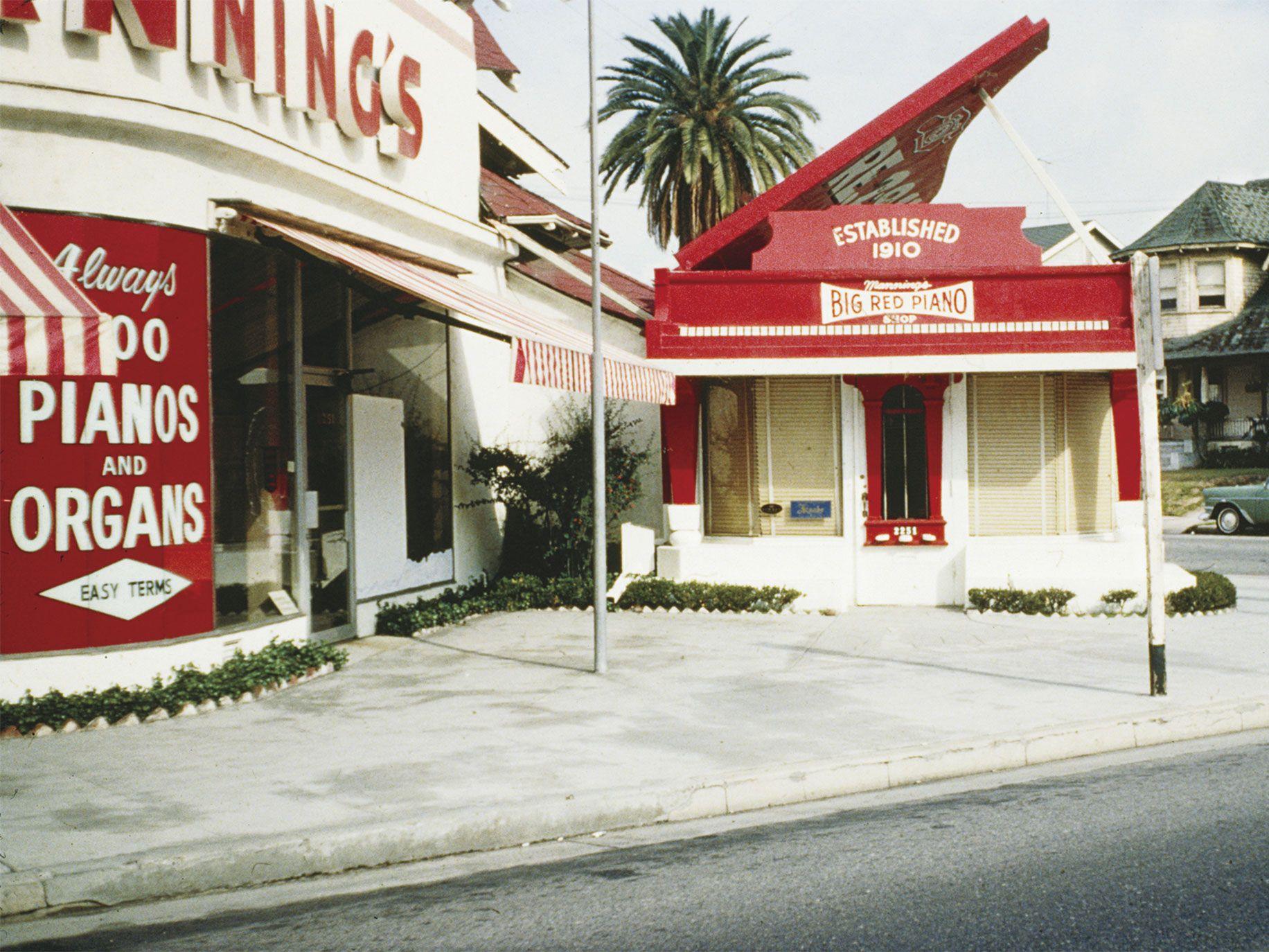 Big Red Piano, Los Angeles (circa 1977).