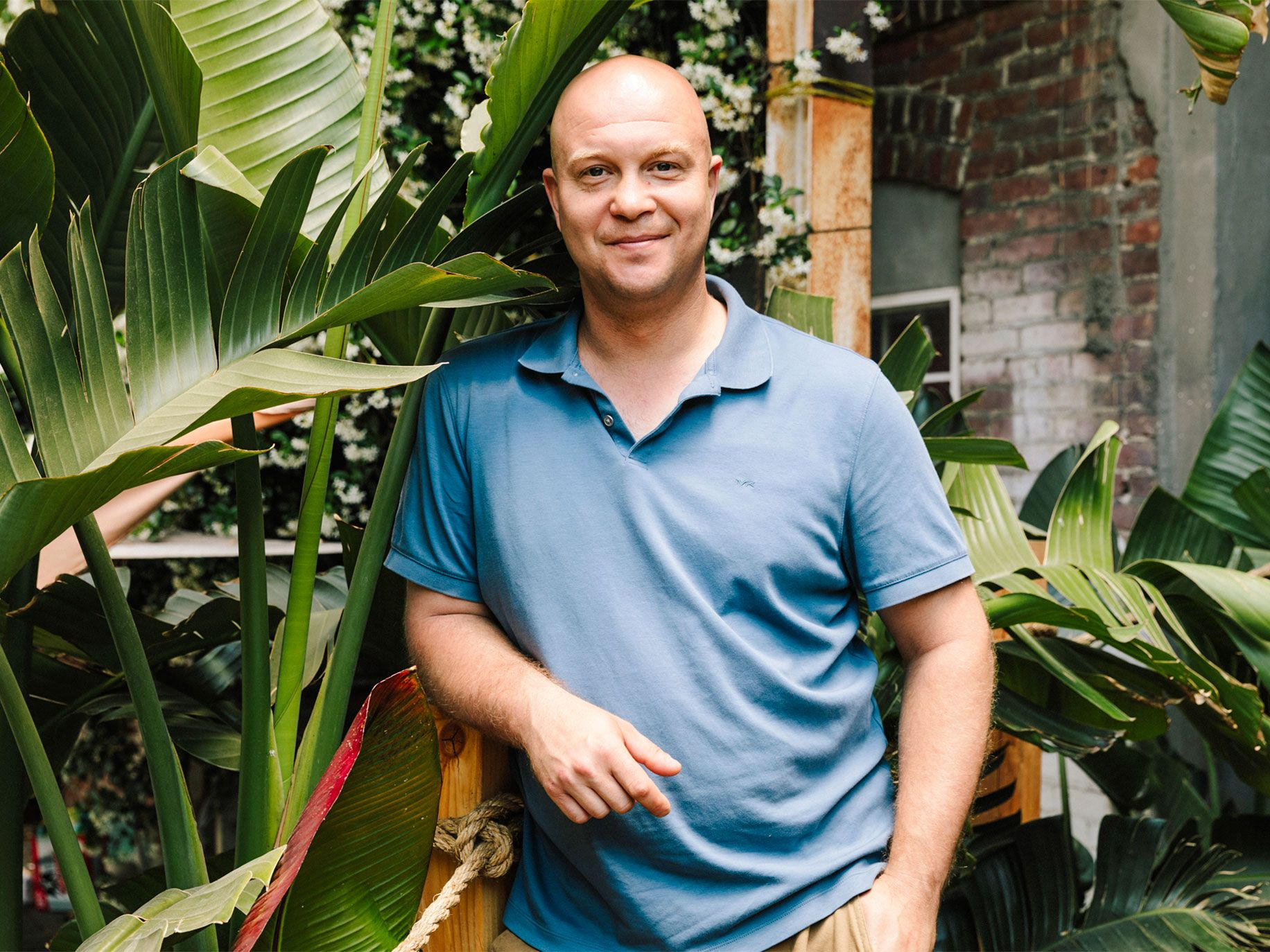 Lost Spirits co-founder Bryan Davis.