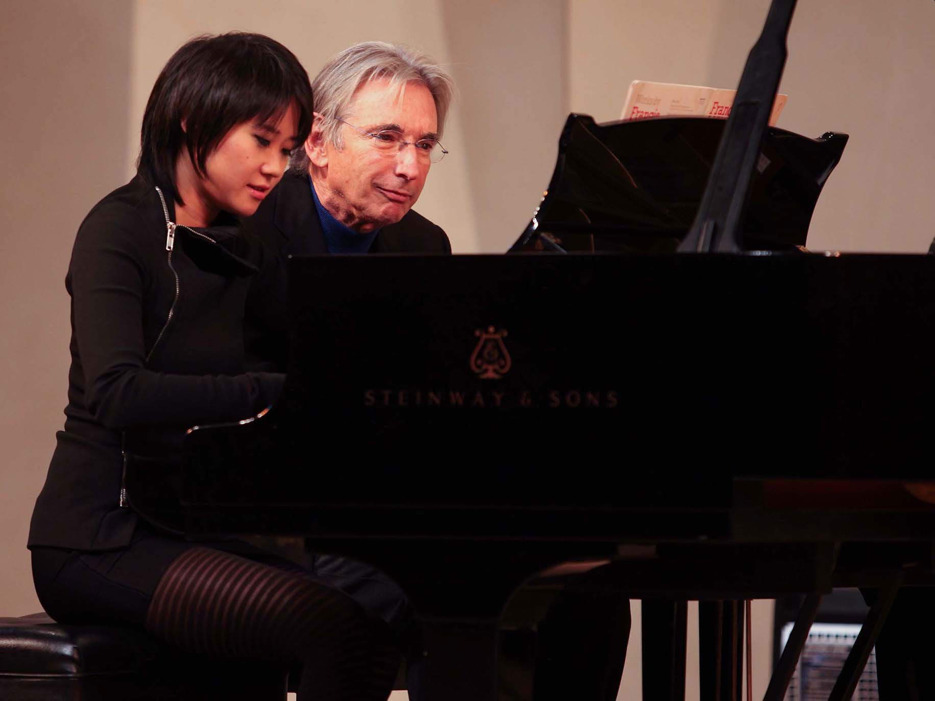 "San Francisco Symphony'sMichael Tilson Thomas conducts pianist Yuja Wang and ""Appalachian Spring."""
