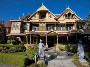 Winchester Mystery House in San Jose is a popular tourist attraction.