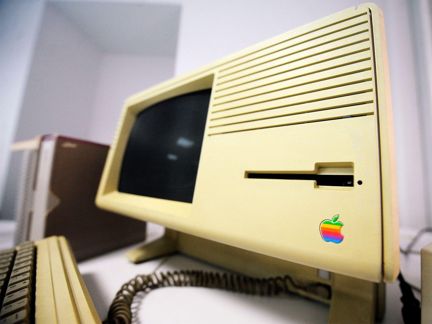 An Apple Lisa computer named after Steve Jobs' daughter, Lisa Brennan-Jobs.