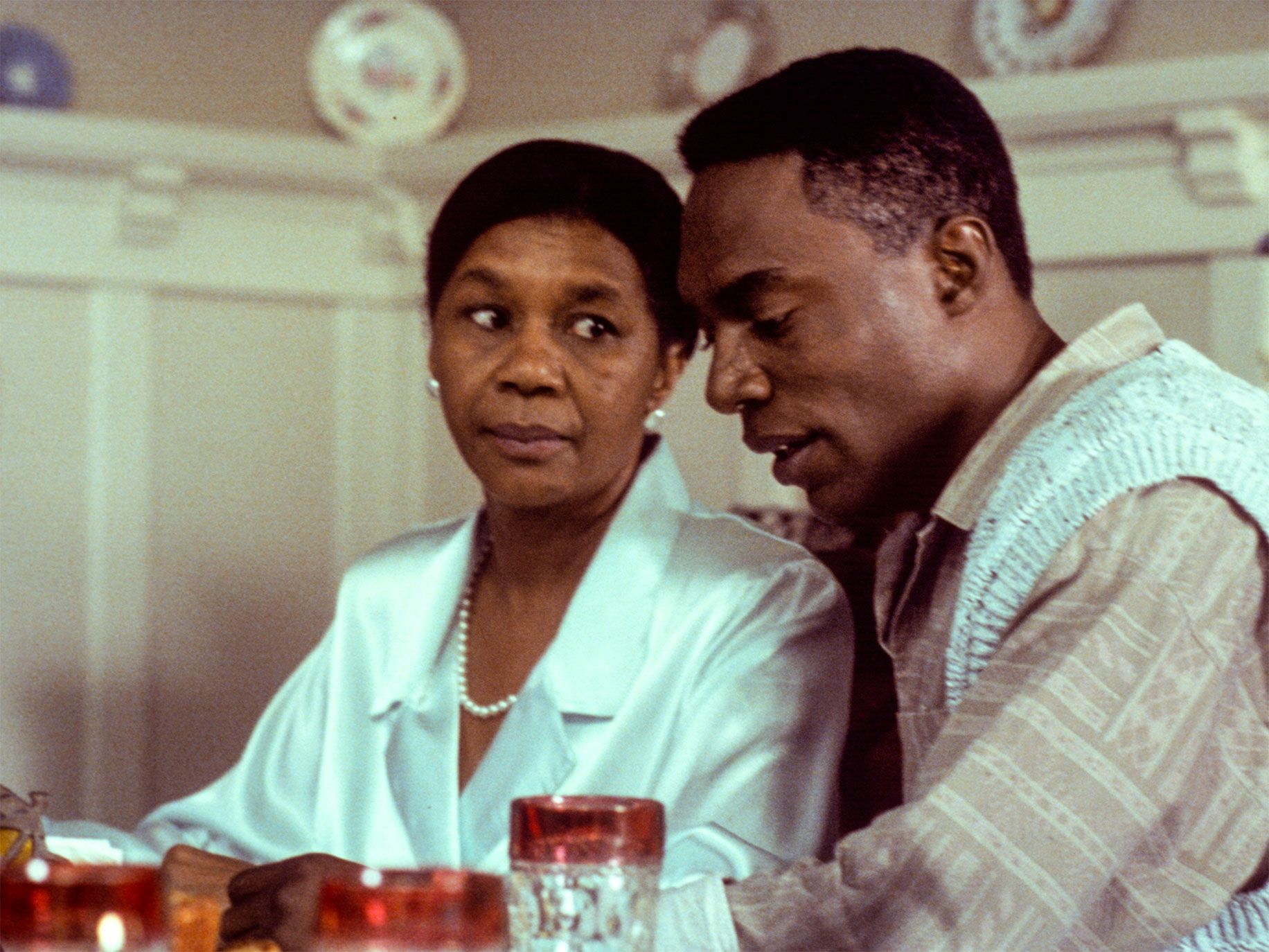 """Richard Brooks embodies the rise of the """"buppie,"""" to the concern of his mother (Mary Alice), who believes in family and old-time religion."""