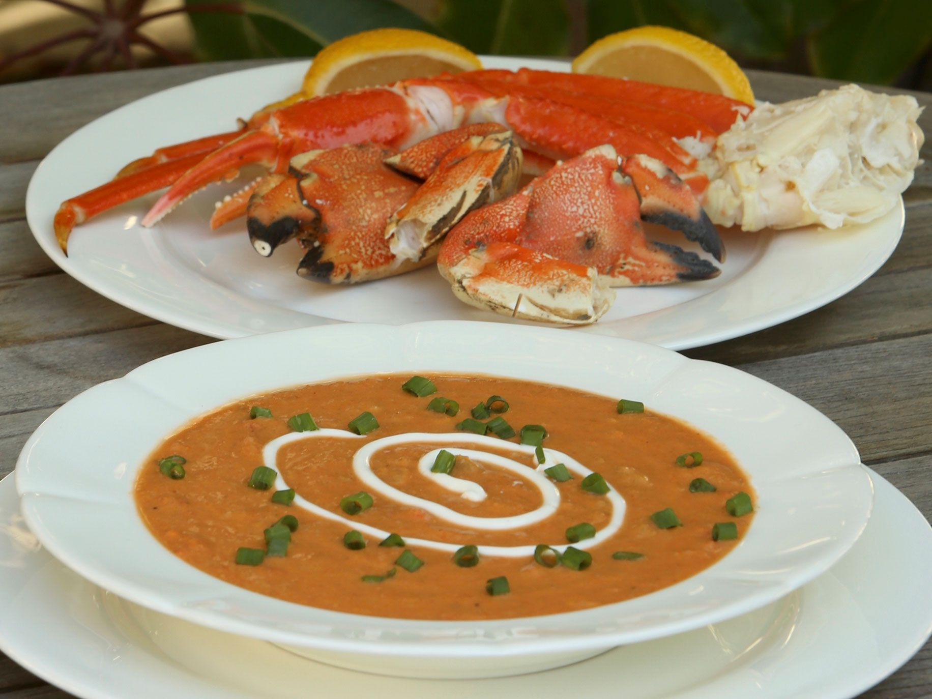 """Crab bisque from """"""""First We Surf, Then We Eat: Recipes From a Lifetime of Surf Travel."""""""