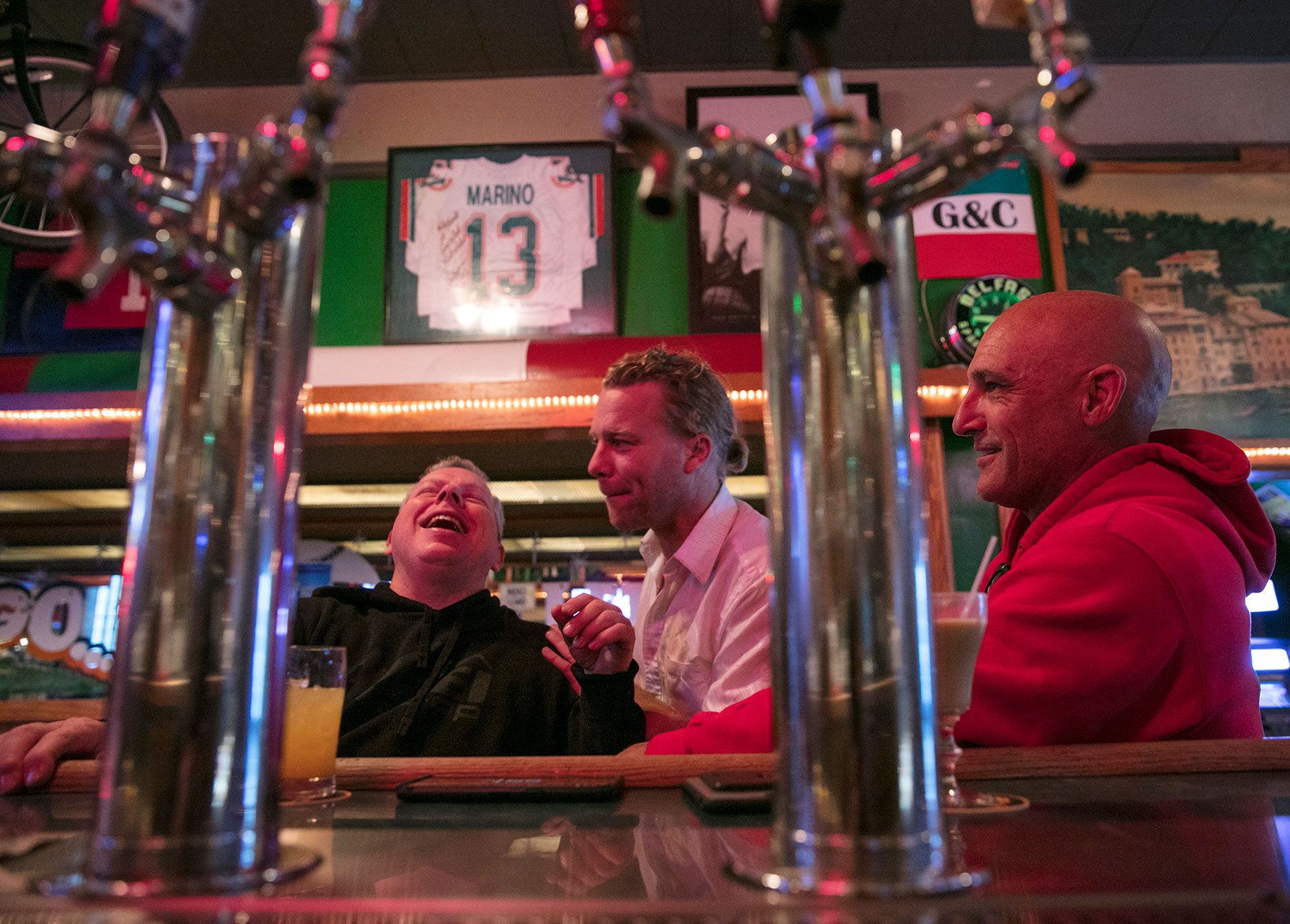 Early morning patrons of Ace's in the Tenderloin prefer brunch-style drinks.