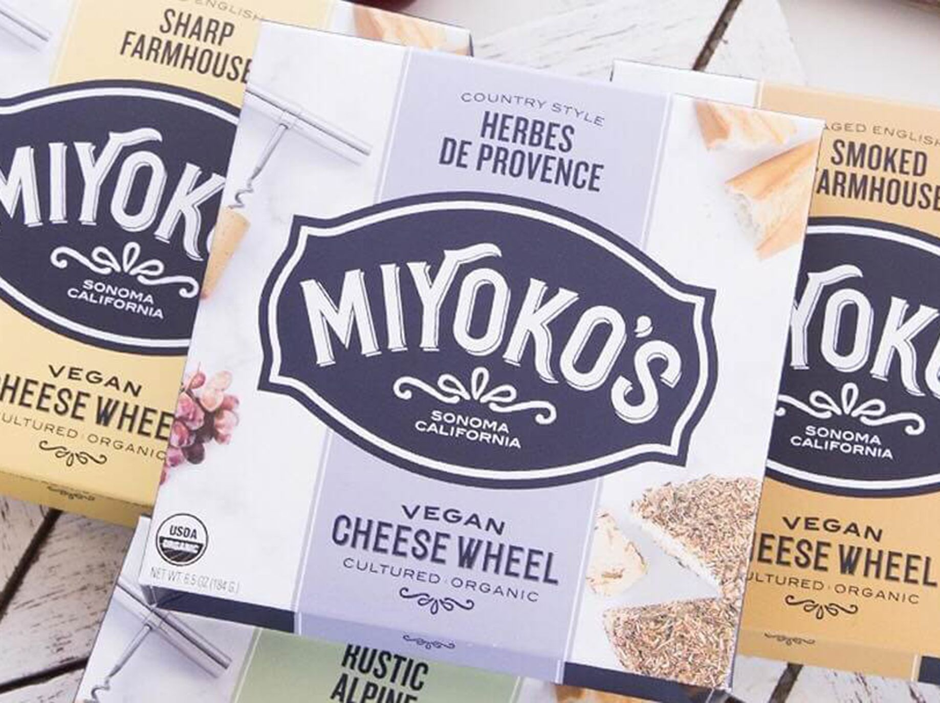 """Miyoko's concludes its mission statement by declaring that its """"Phenomenally Vegan"""" cream cheese and other products are about """"How we change the world. Together."""""""