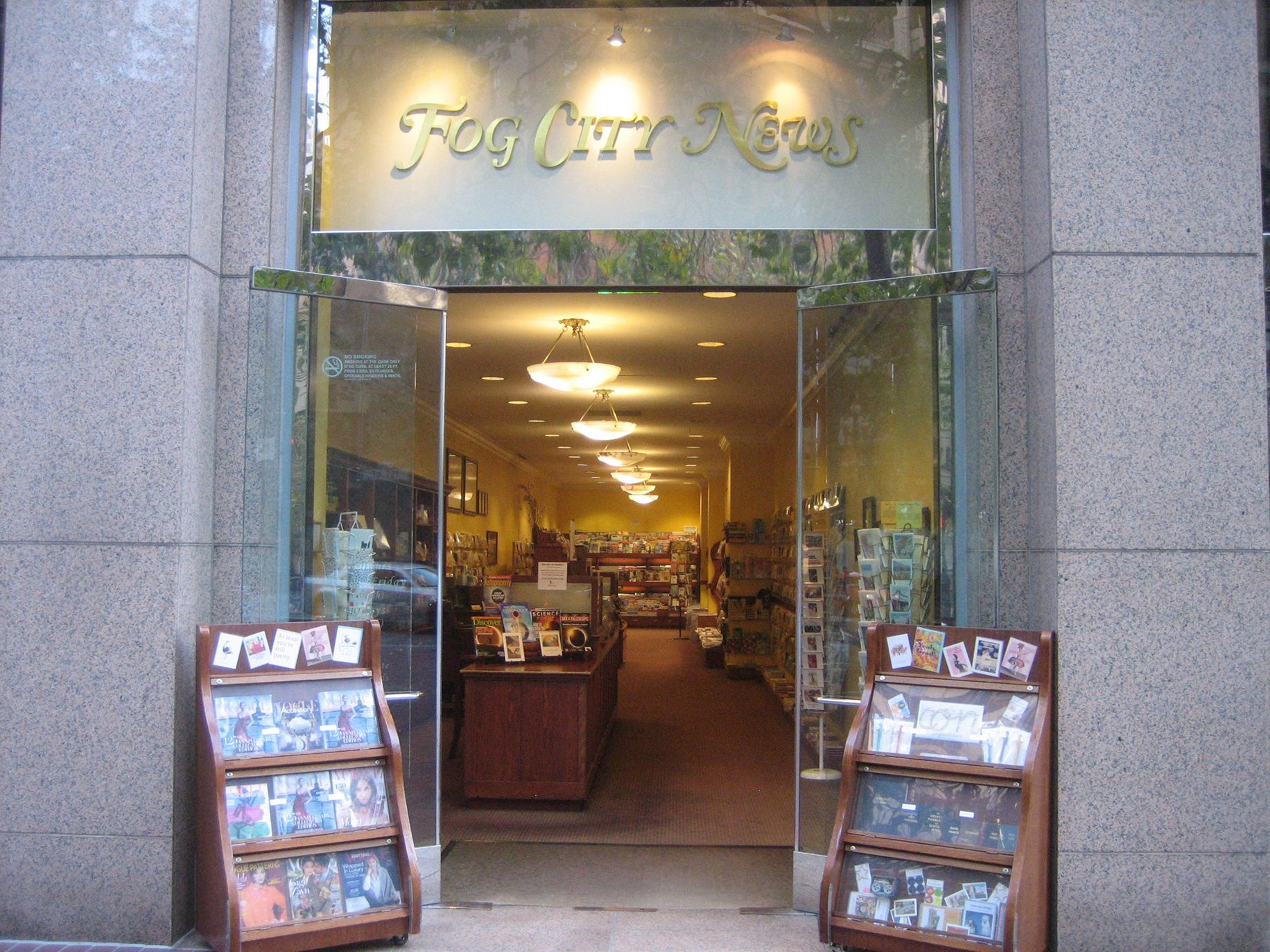 San Francisco's Fog City News has been open on Market Street since 1999.