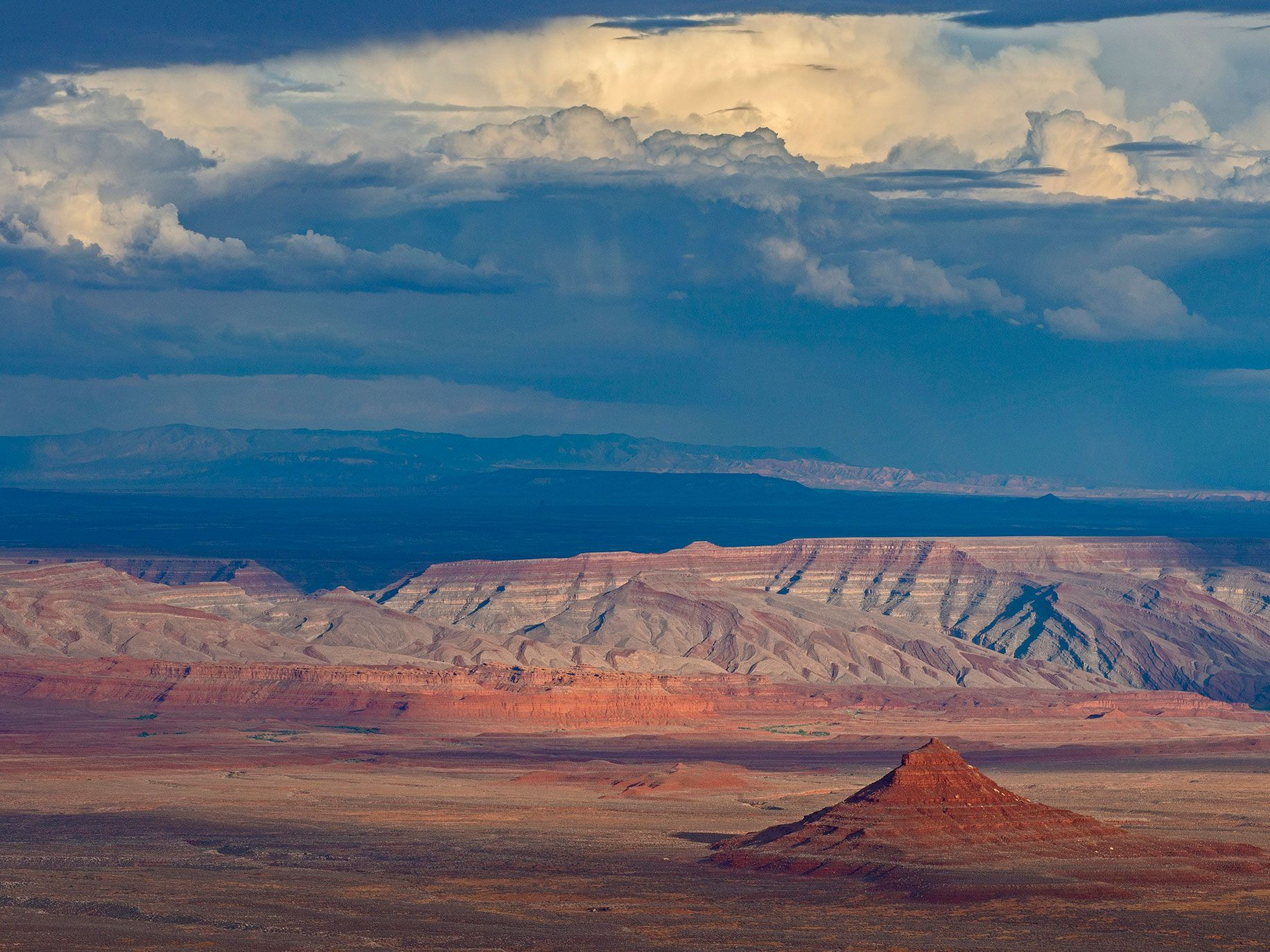The Valley of the Gods, a 17-mile-long expanse removed from the Bears Ears National Monument by President Trump.