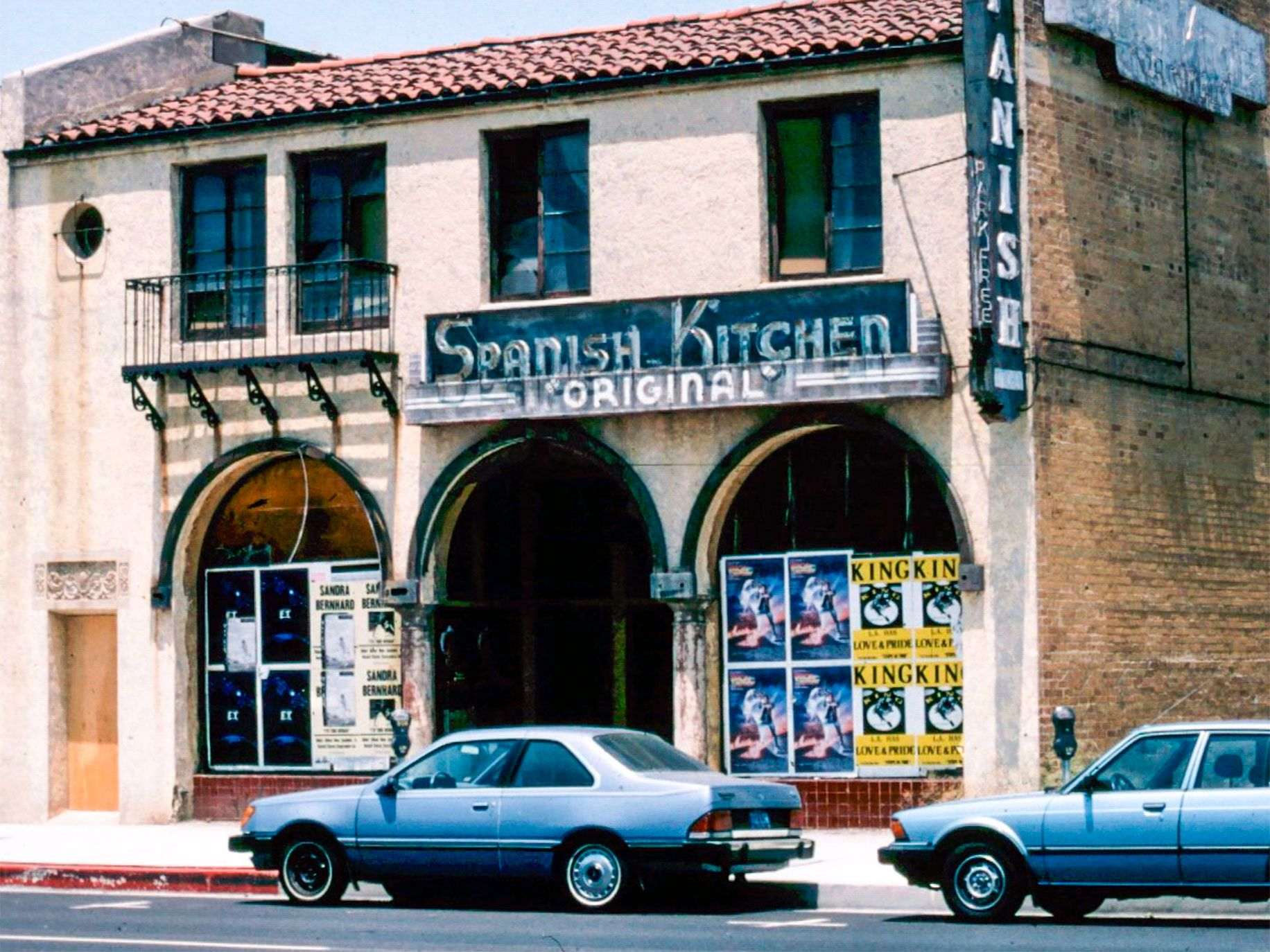 The building that housed the Original Spanish Kitchen, a favorite haunt of Hollywood stars, remained vacant on Beverly Boulevard in Los Angeles for decades after the restaurant closed.