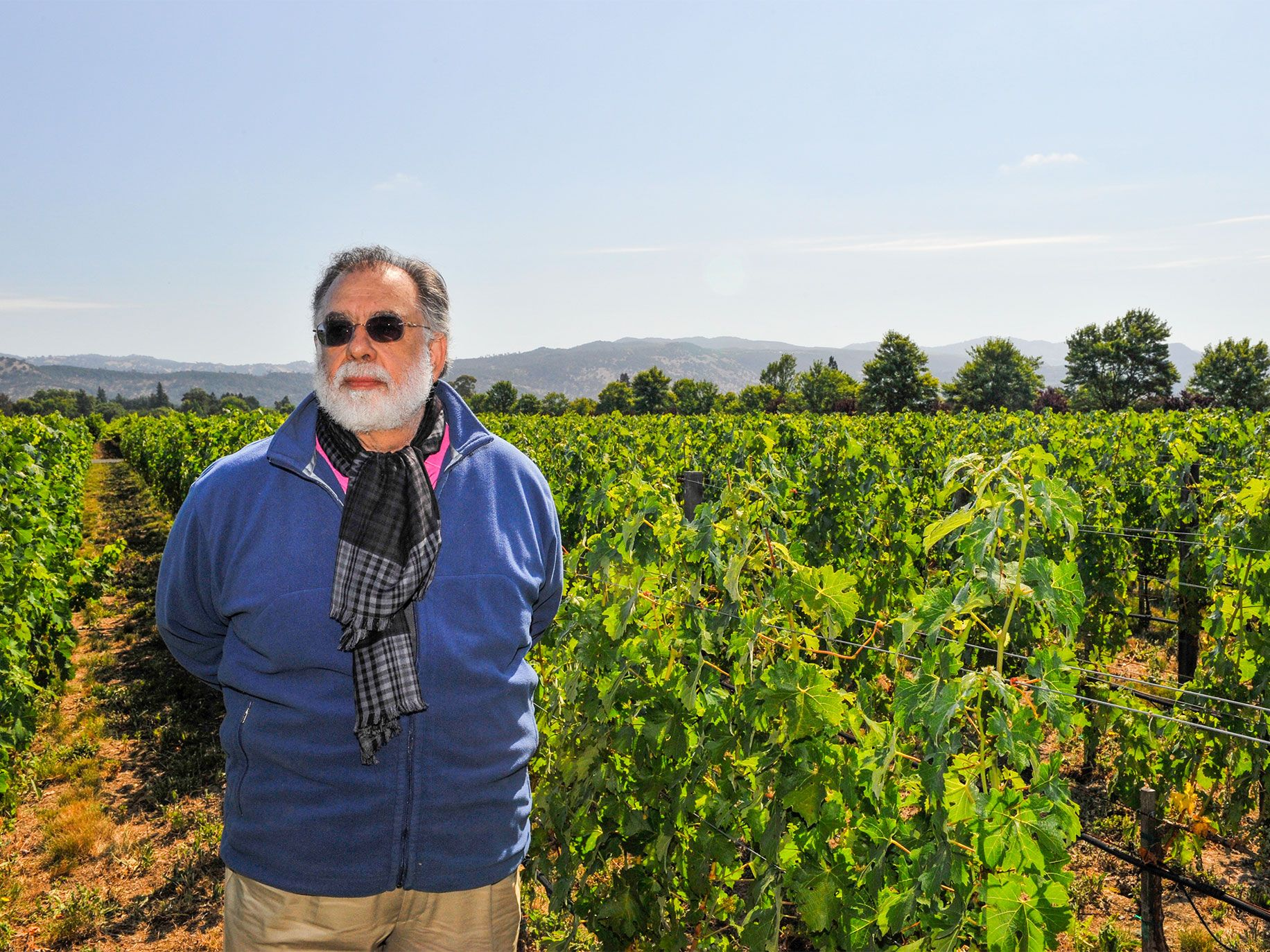 With his movie-making years behind him, Francis Ford Coppola is turning his attention to his next production: reviving the storied Inglenook winery in Rutherford. Previous owners had cut prices and quality, and Coppola is having parts of the vineyard replanted and focusing on upscale, better-quality wines, such as Rubicon.