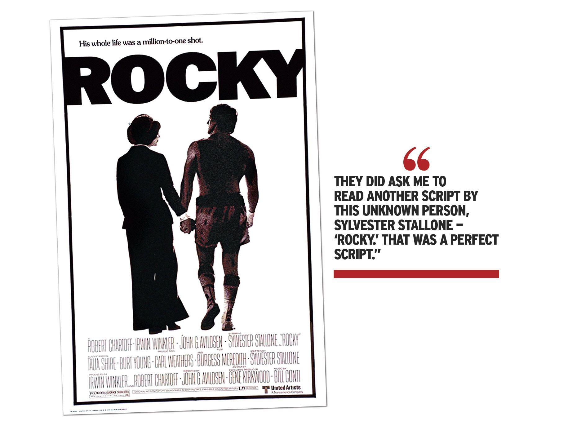 """Rocky"" movie poster"