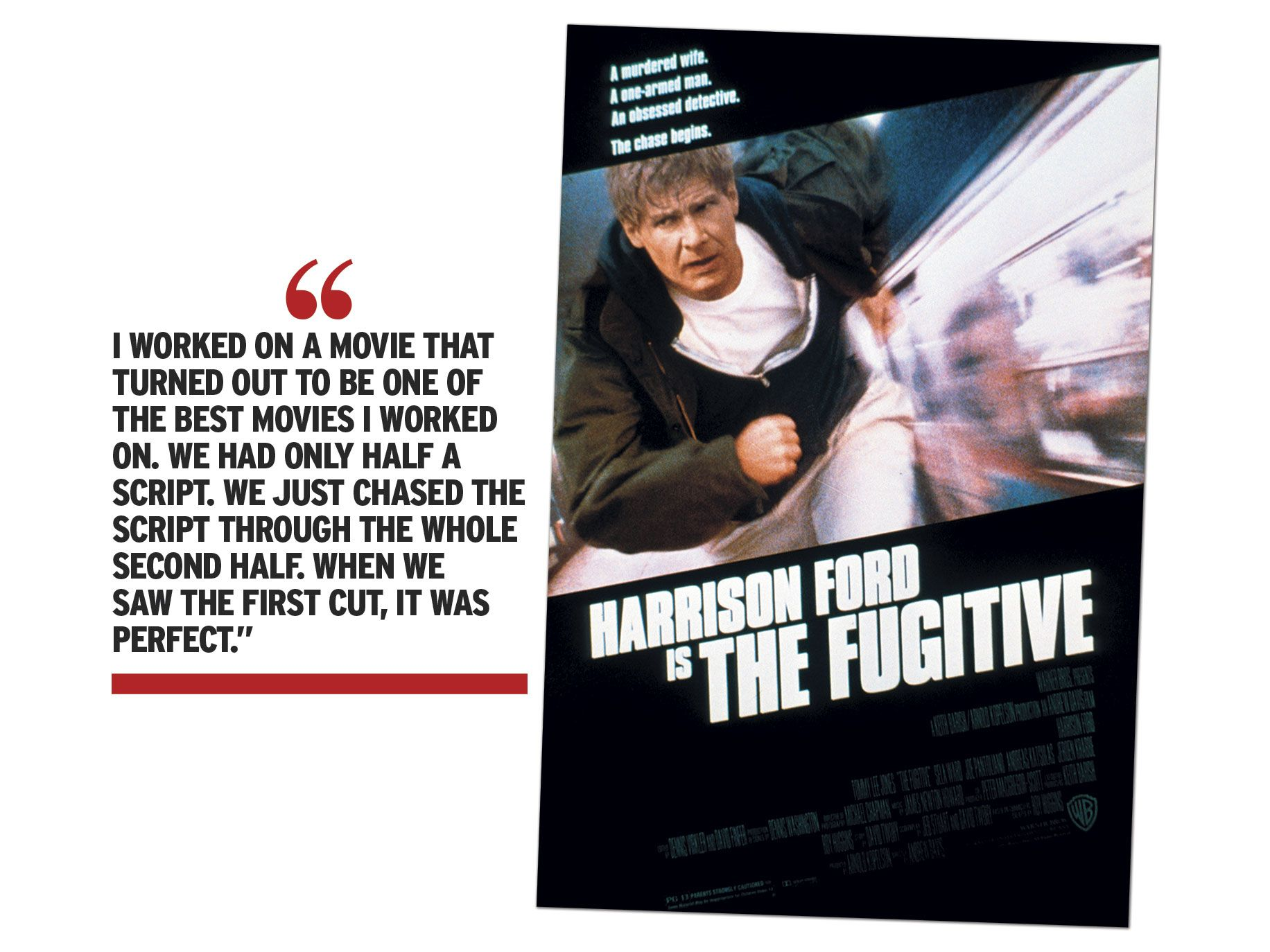 """The Fugitive"" movie poster"