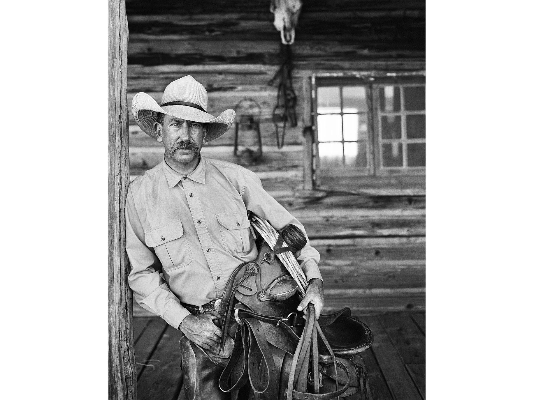 Casey Murph, H Bar Y Ranch, Navajo County, near Holbrook, Ariz., 2010.