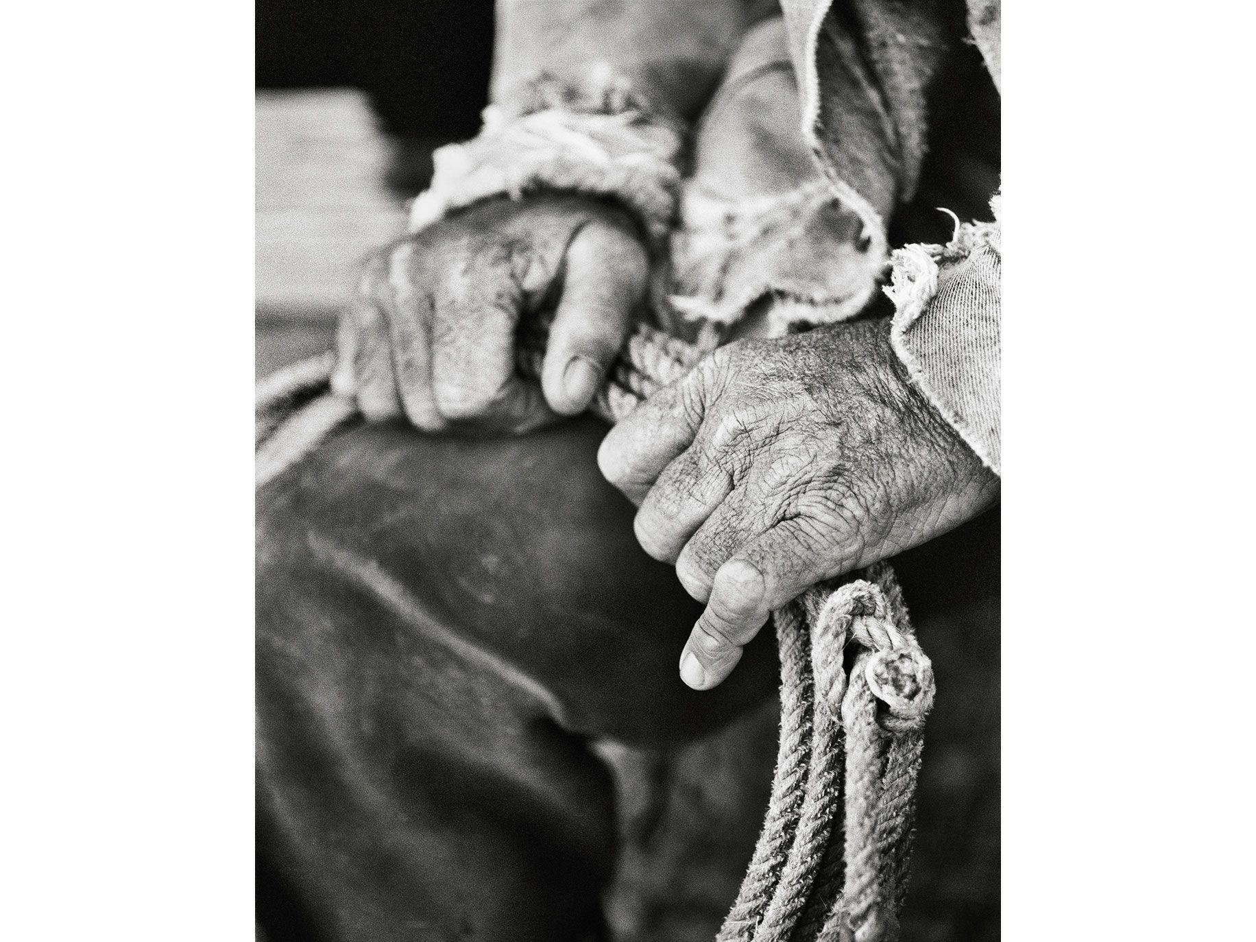 Hands & Honda, Jim O'Haco, O'Haco Cattle Company, Coconino County, Ariz., 2006.