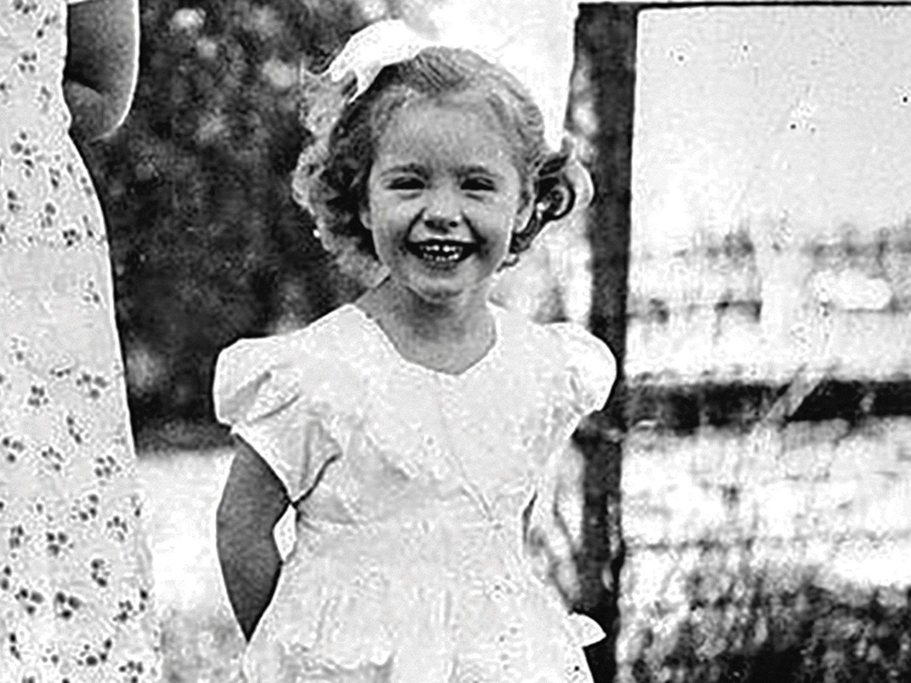 Three-year-old Kathy Fiscus, who fell down a well in San Marino.