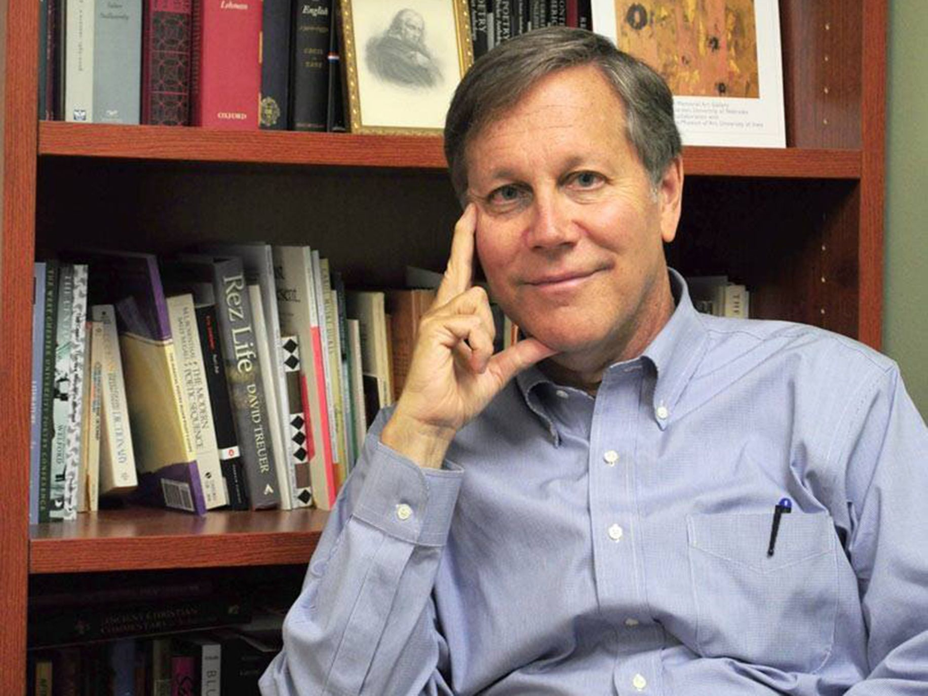 This is a photo of Dana Gioia was appointed California's Poet Laureate by Gov. Jerry Brown in 2015.
