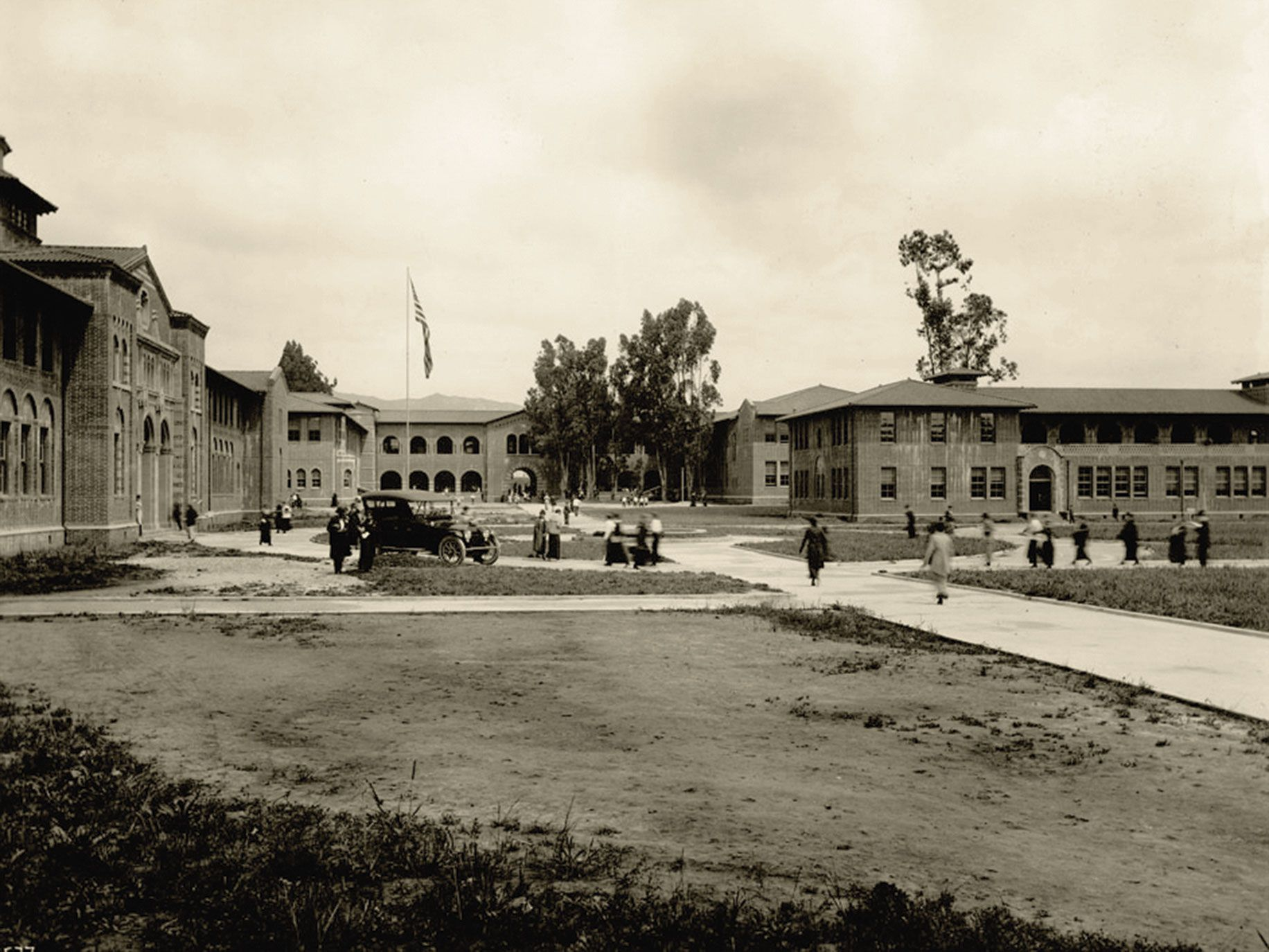 May 23, 1919: The Los Angeles State Normal School, which was founded in 1881, becomes the University of California Los Angeles.