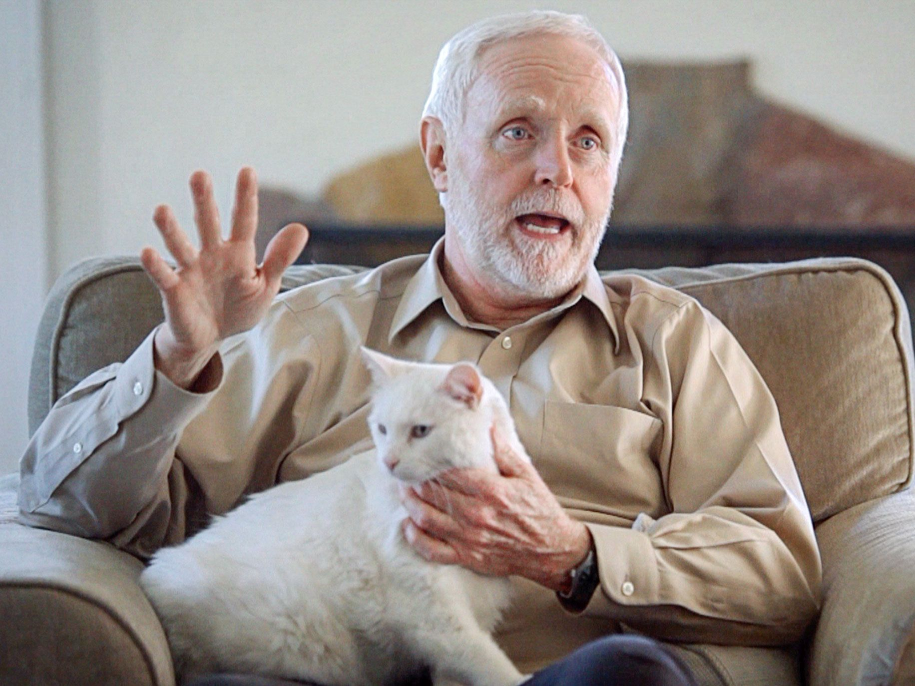 J. R. Yeager helped trap and euthanize more than 300 cats after he became disillusioned with trap-neuter-return efforts. He lives in Oakland with his street-rescued cat, Penny.