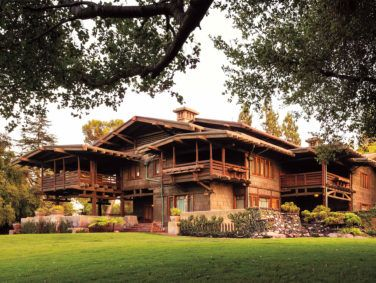 Built in 1908, the Gamble House was designed by architects Greene & Greene, for use by David and Mary Gamble (of Procter & Gamble fame) as a winter residence.