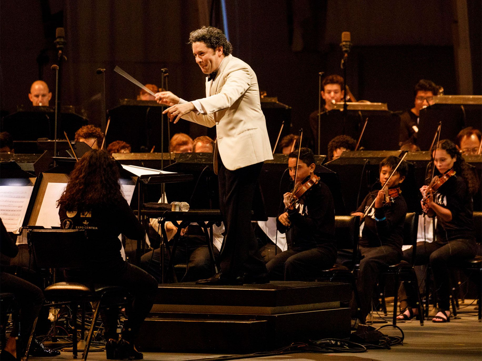 Music director Gustavo Dudamel has helped the L.A. Philharmonic's programming become more inclusive and better reflect the diversity of Los Angeles.