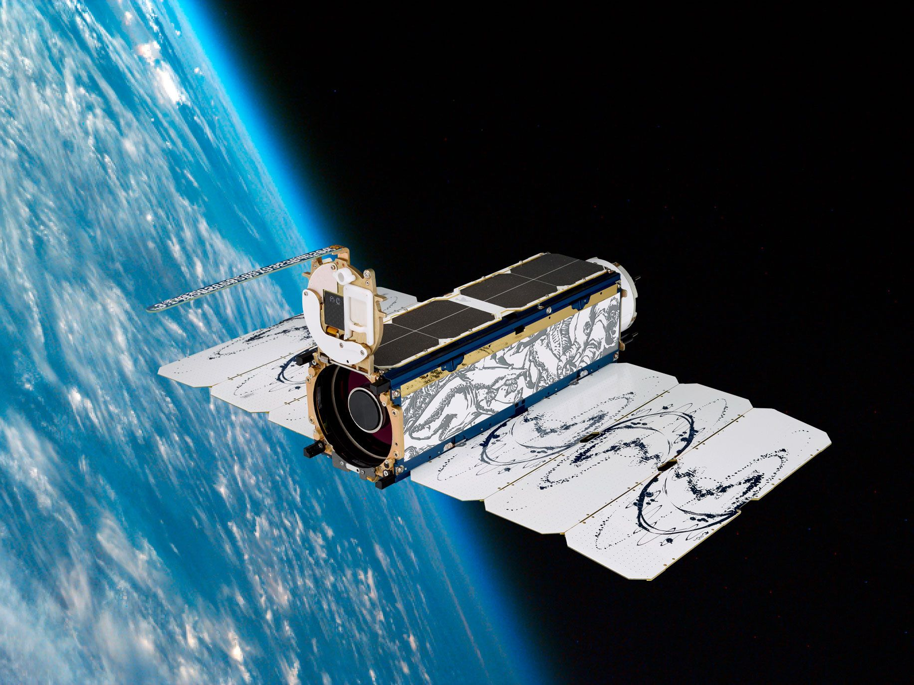 Planet has built the world's largest constellation of satellites. The company has deployed more than 300 Dove satellites; about 140 are active.