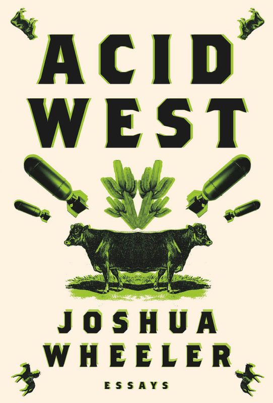 """Author Joshua Wheel's """"Acid West"""" is a collection of essays centered around New Mexico and the Southwest."""