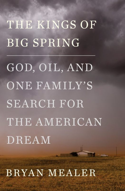 "Author Bryan Mealer read from his book, ""The Kings of Big Spring: God, Oil, and One Family's Search for the American Dream"""