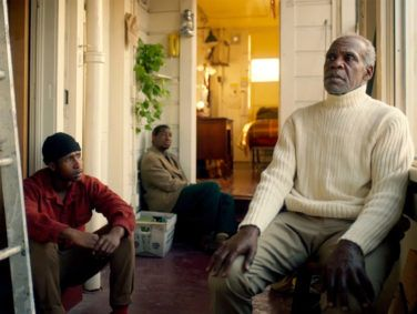 San Francisco native Danny Glover (right) costars in The Last Black Man in San Francisco with Fails (left) and Majors (center).