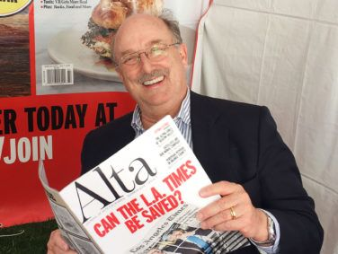 Alta's editor and publisher Will Hearst.