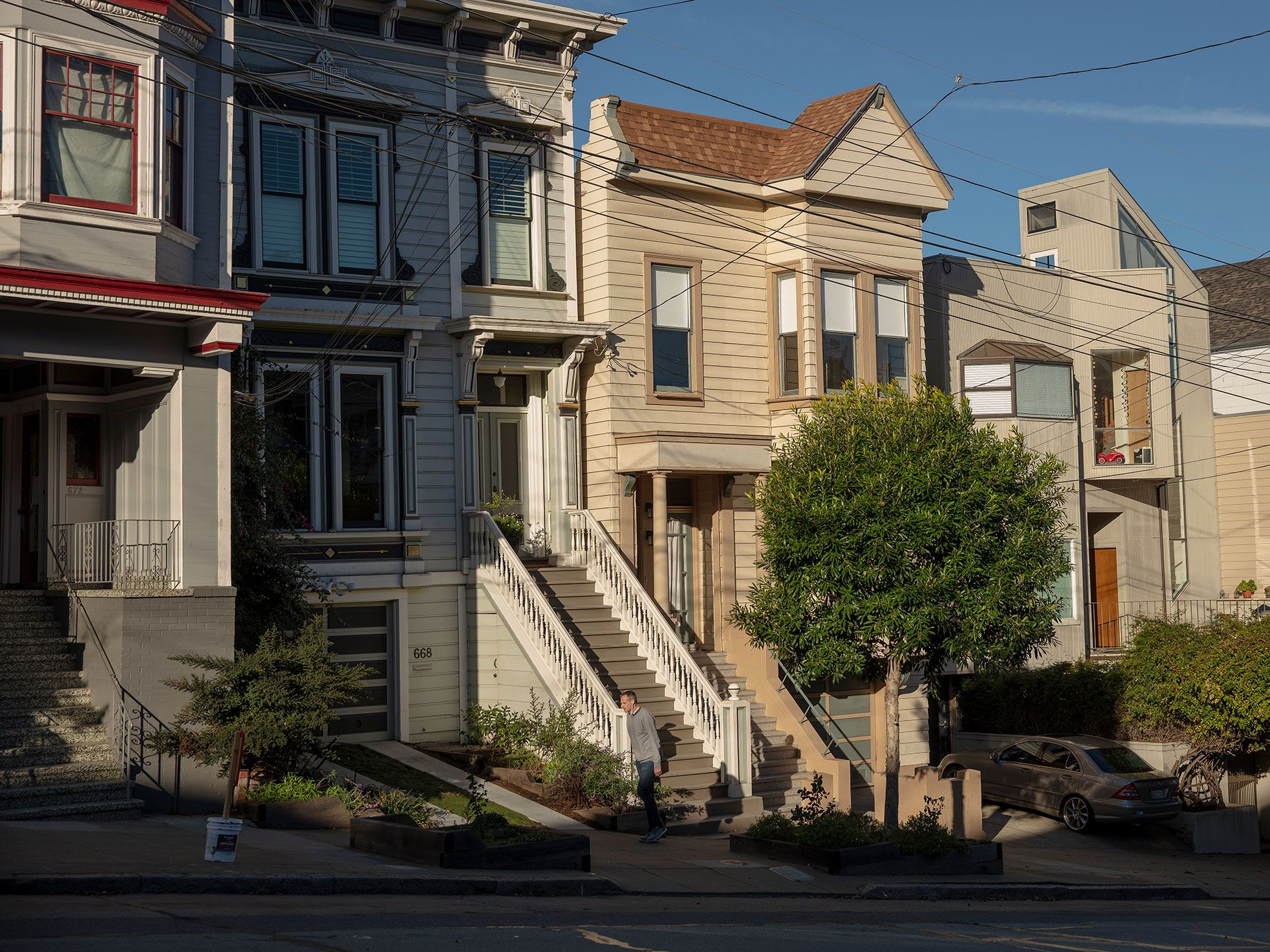 The Castro is primarily made up of two-to-four-unit buildings, which experts says make speculative evictions a cinch.