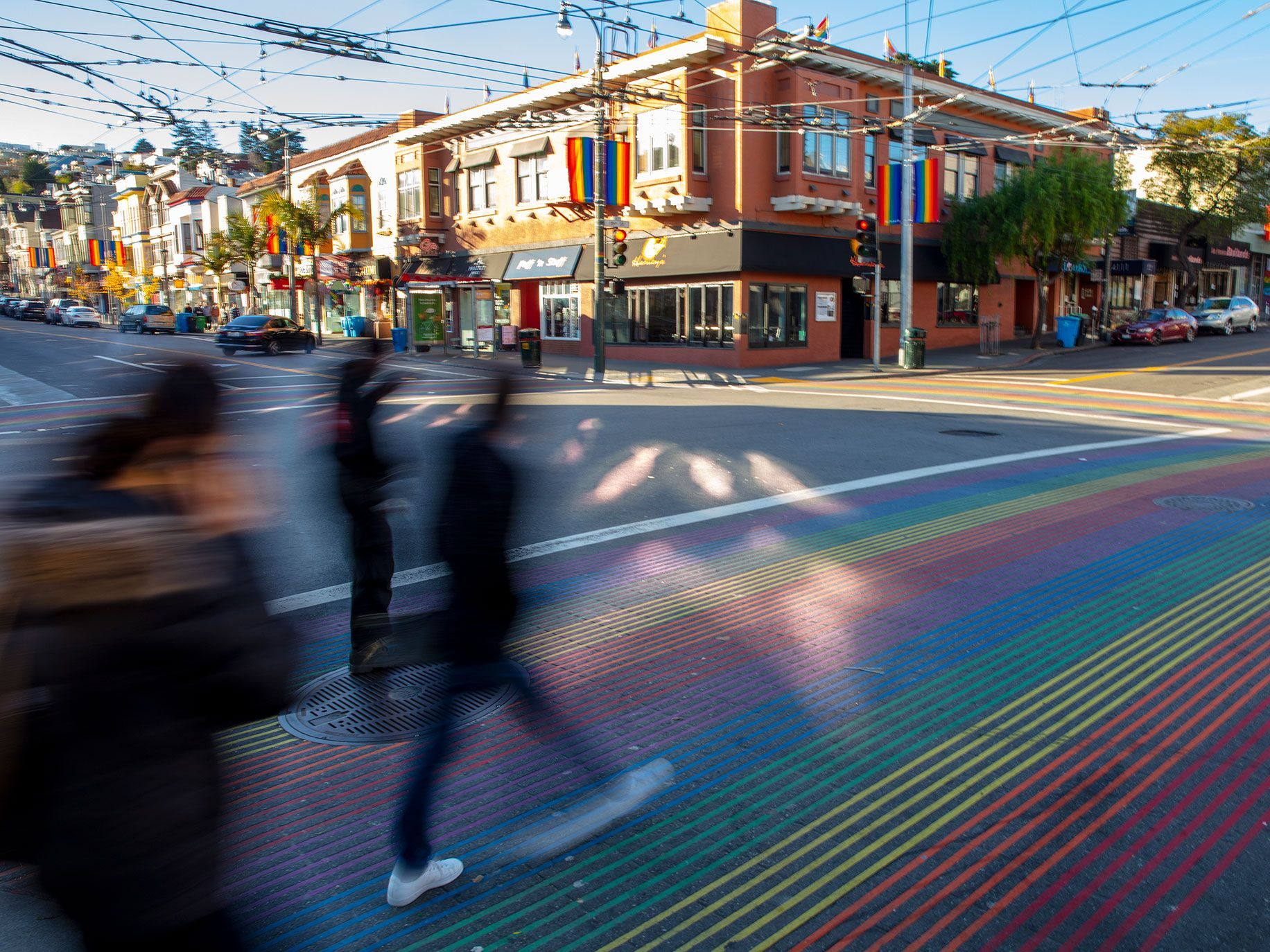The average rent for a two-bedroom apartment in the Castro is about $5,000 a month, and the median sale price for a home there is north of $1 million. When longtime residents with rent control get evicted, they can't afford to stay in the neighborhood.