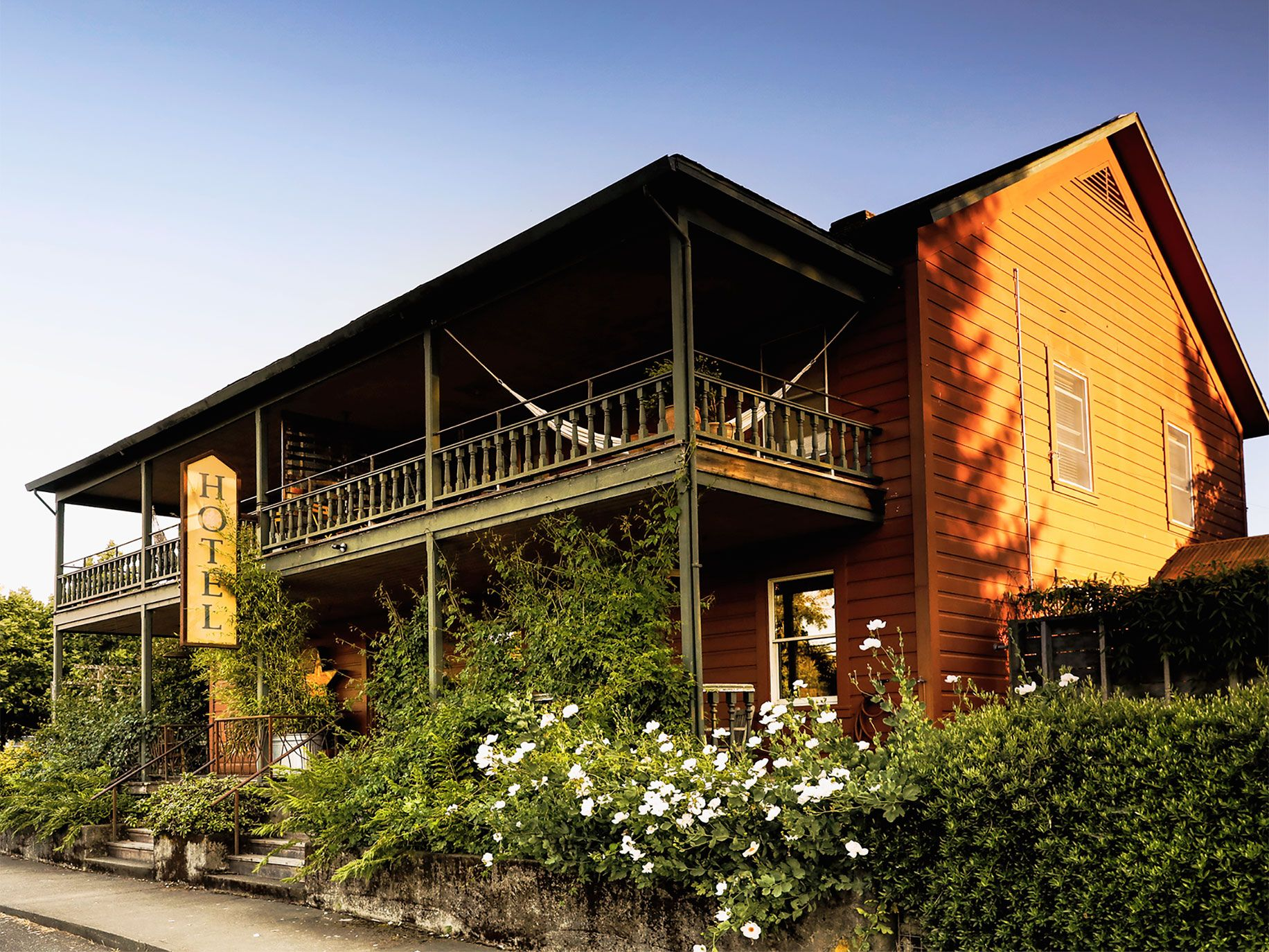 The Boonville Hotel was built in the 1860s.