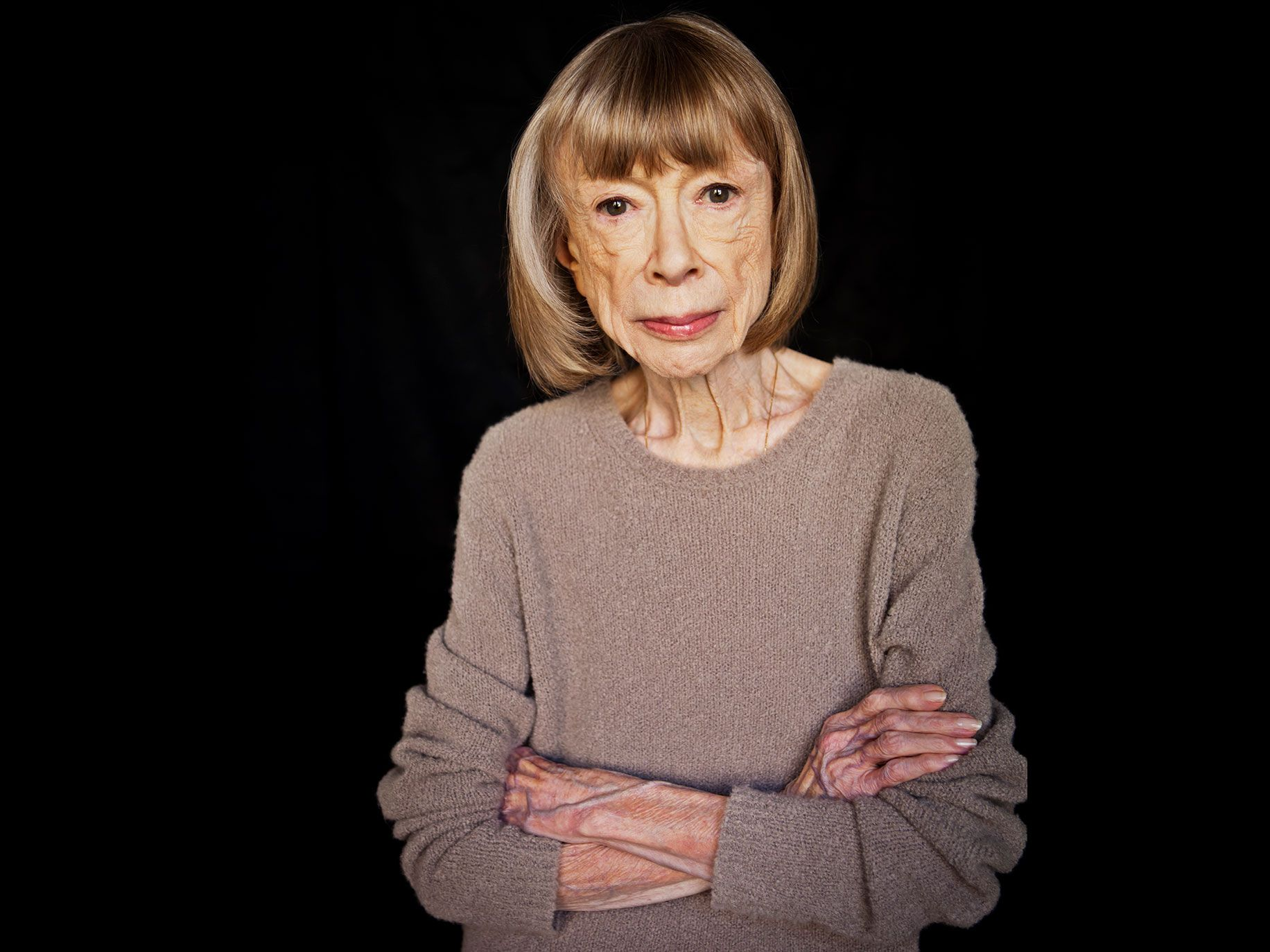Author Joan Didion has been the recipient of numerous awards, including a National Medal of Arts and Humanities by President Obama, and the PEN Center USA's Lifetime Achievement Award.