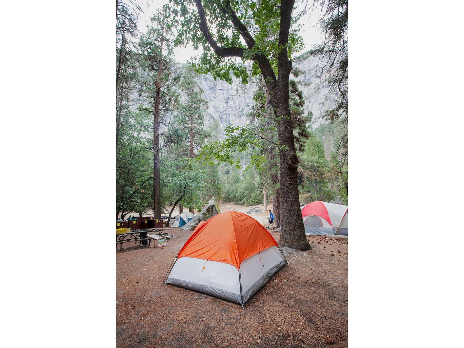 Yosemite's historic Camp 4, the legacy of climber Tom Frost.