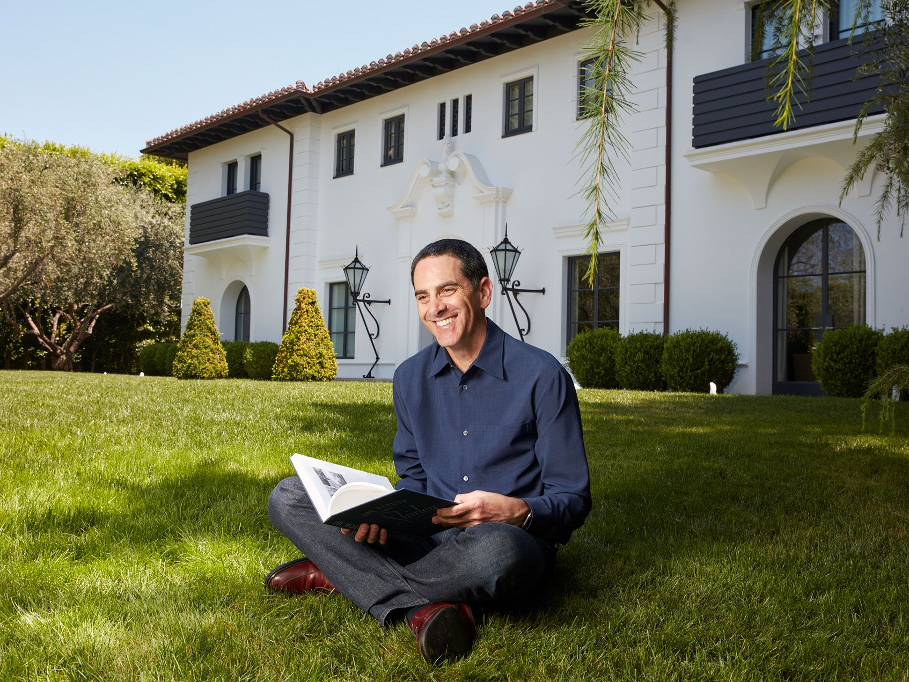 David Silverman spends hundreds of hours on research but very little time inside the homes he studies.