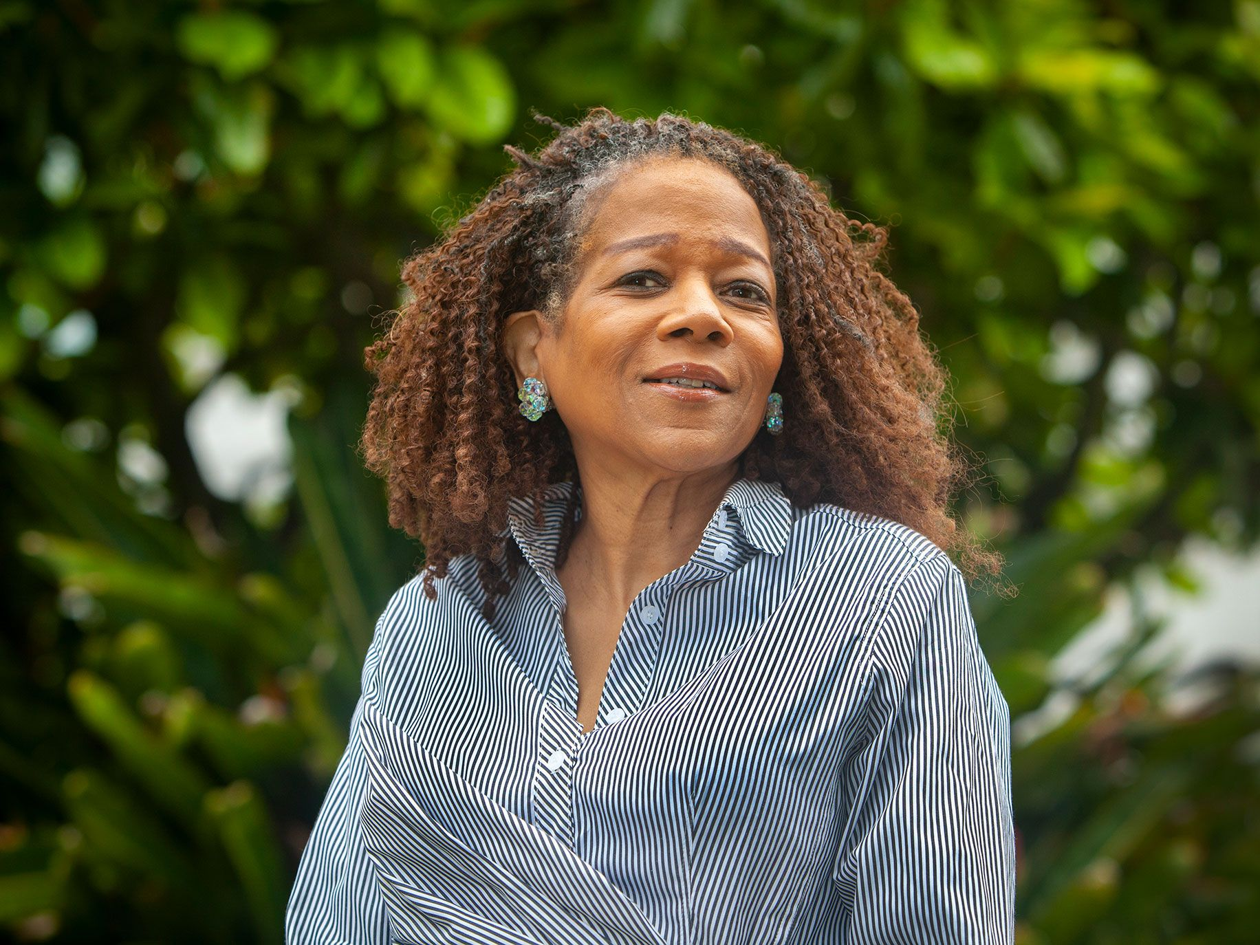 """Jazz singer Paula West's career has been one of brilliant peaks separated by long, flat pauses. """"I just try to look at the glass as half full rather than half empty,"""" she says."""