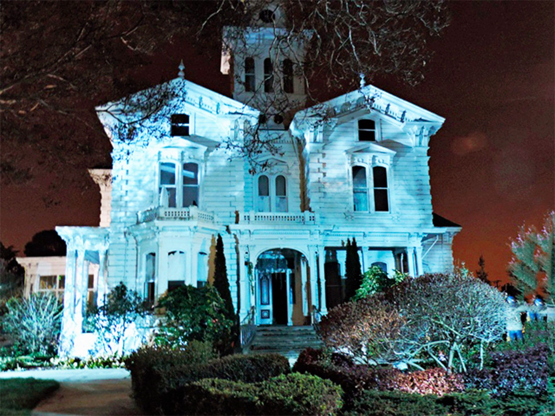 A tour of Meek Mansion is the perfect way to celebrate Halloween.