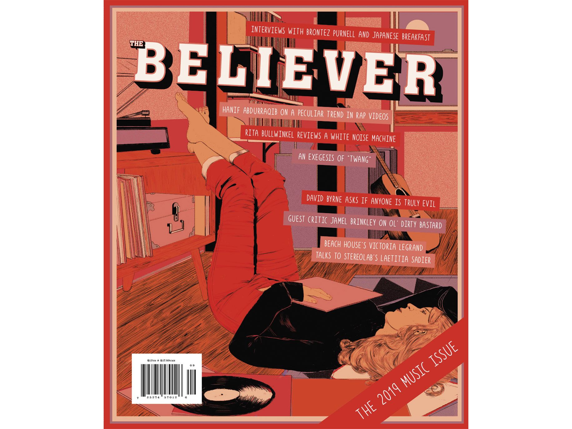 The Believer's new cover design